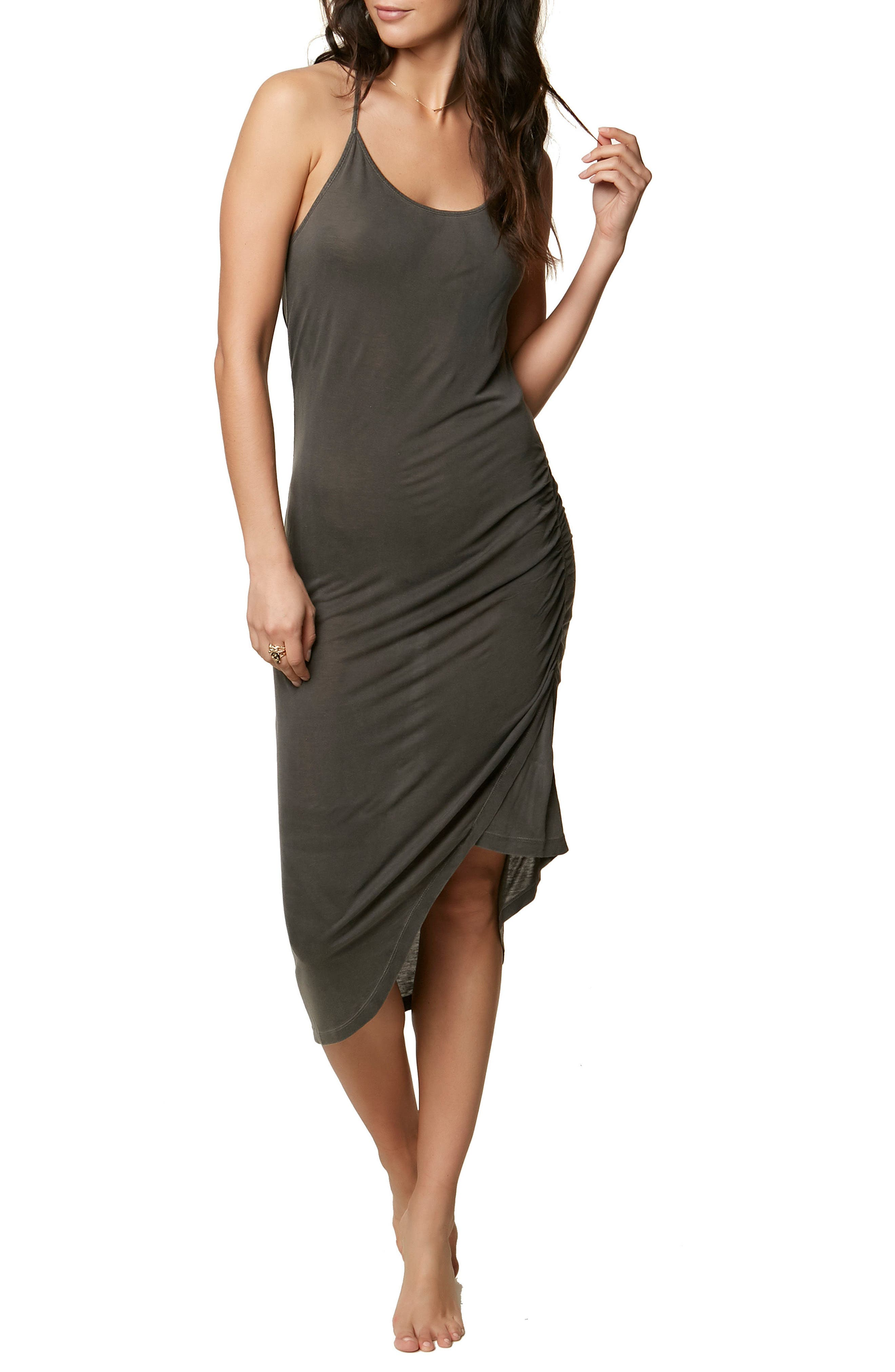 Leo Cover-Up Dress,                         Main,                         color, 001