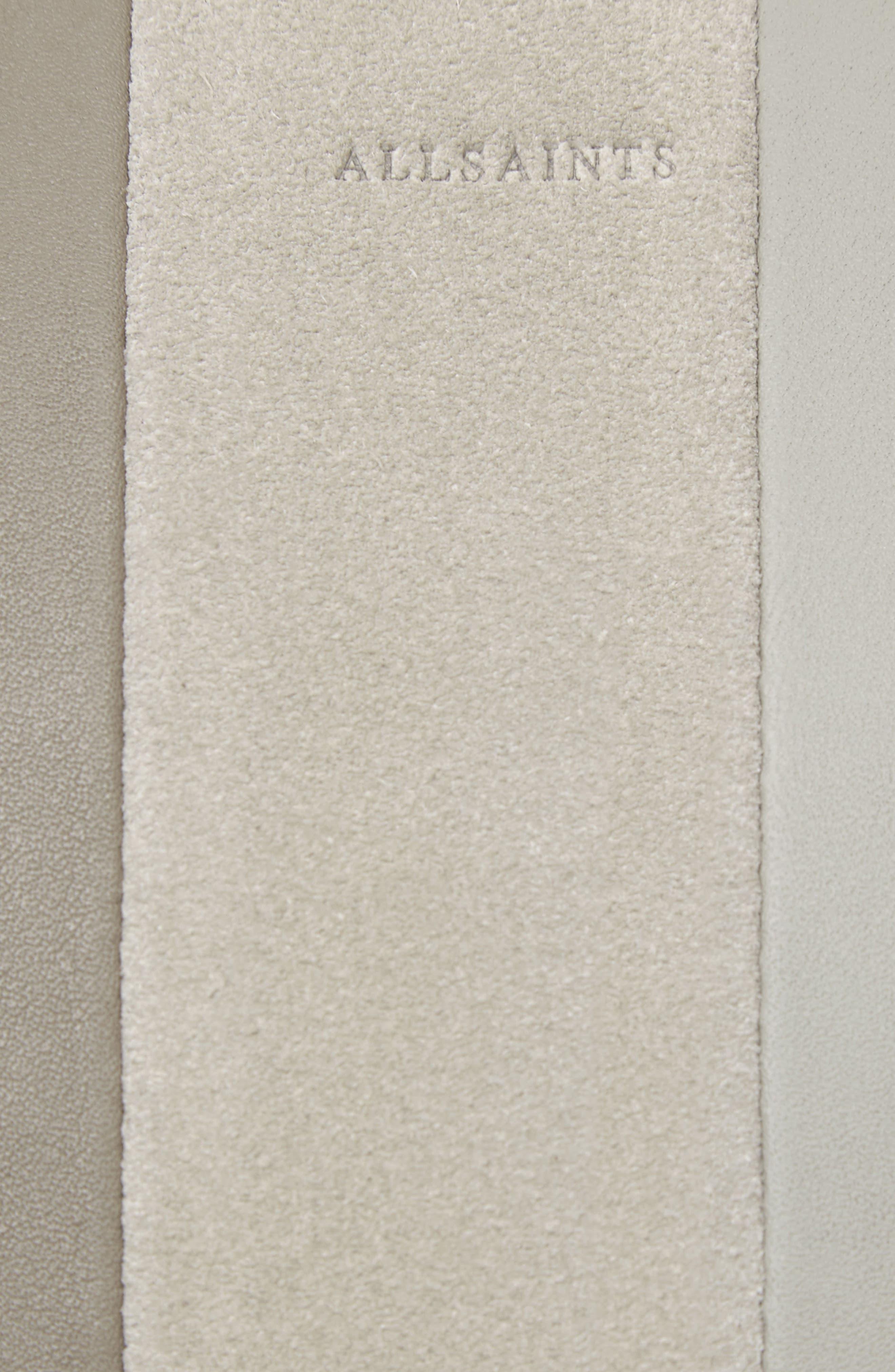 Casey Lea Calfskin Leather & Suede Hobo,                             Alternate thumbnail 4, color,                             250