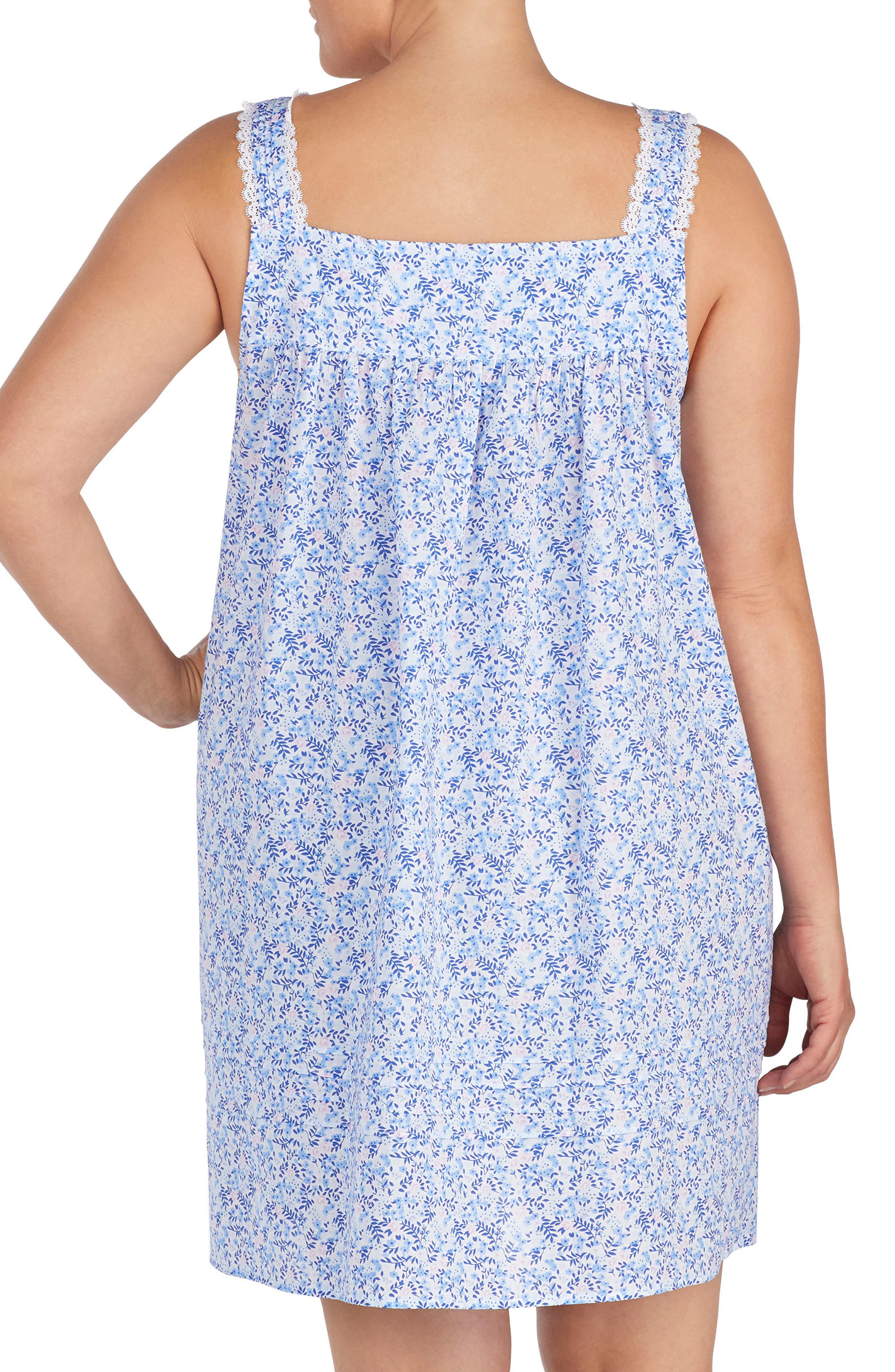 Cotton Lawn Chemise,                             Alternate thumbnail 2, color,