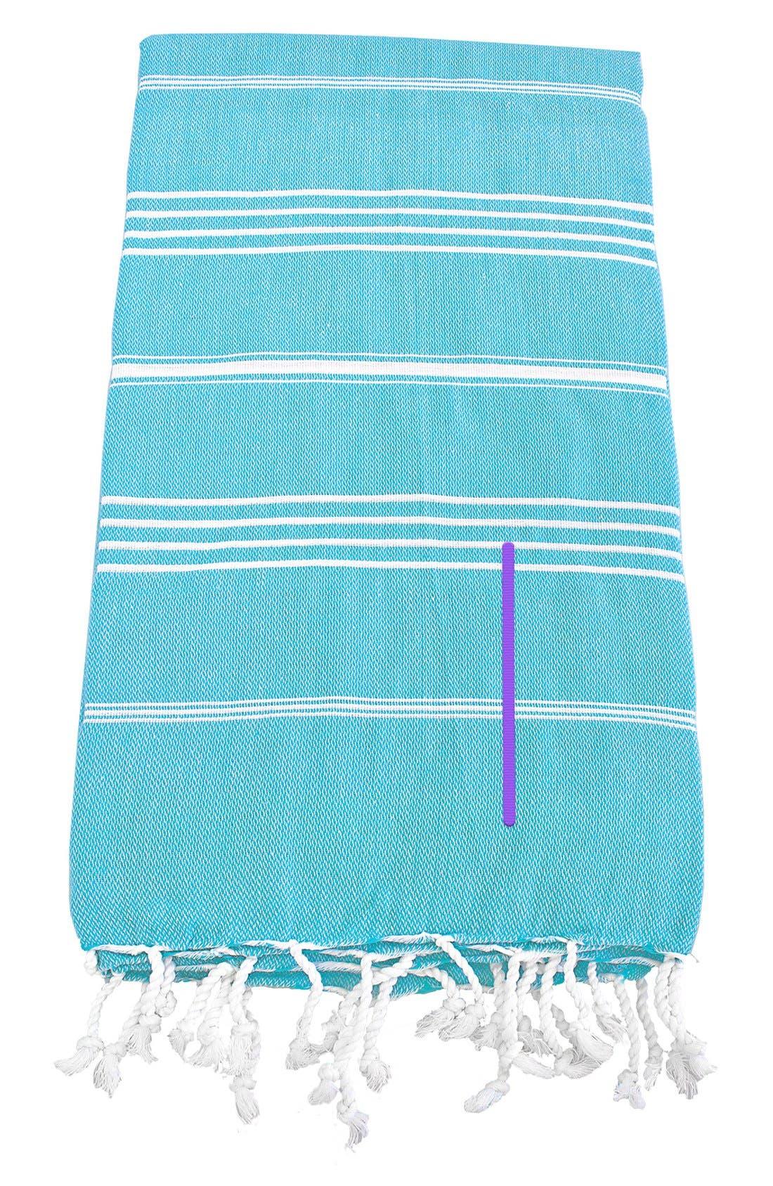 Monogram Turkish Cotton Towel,                             Main thumbnail 92, color,