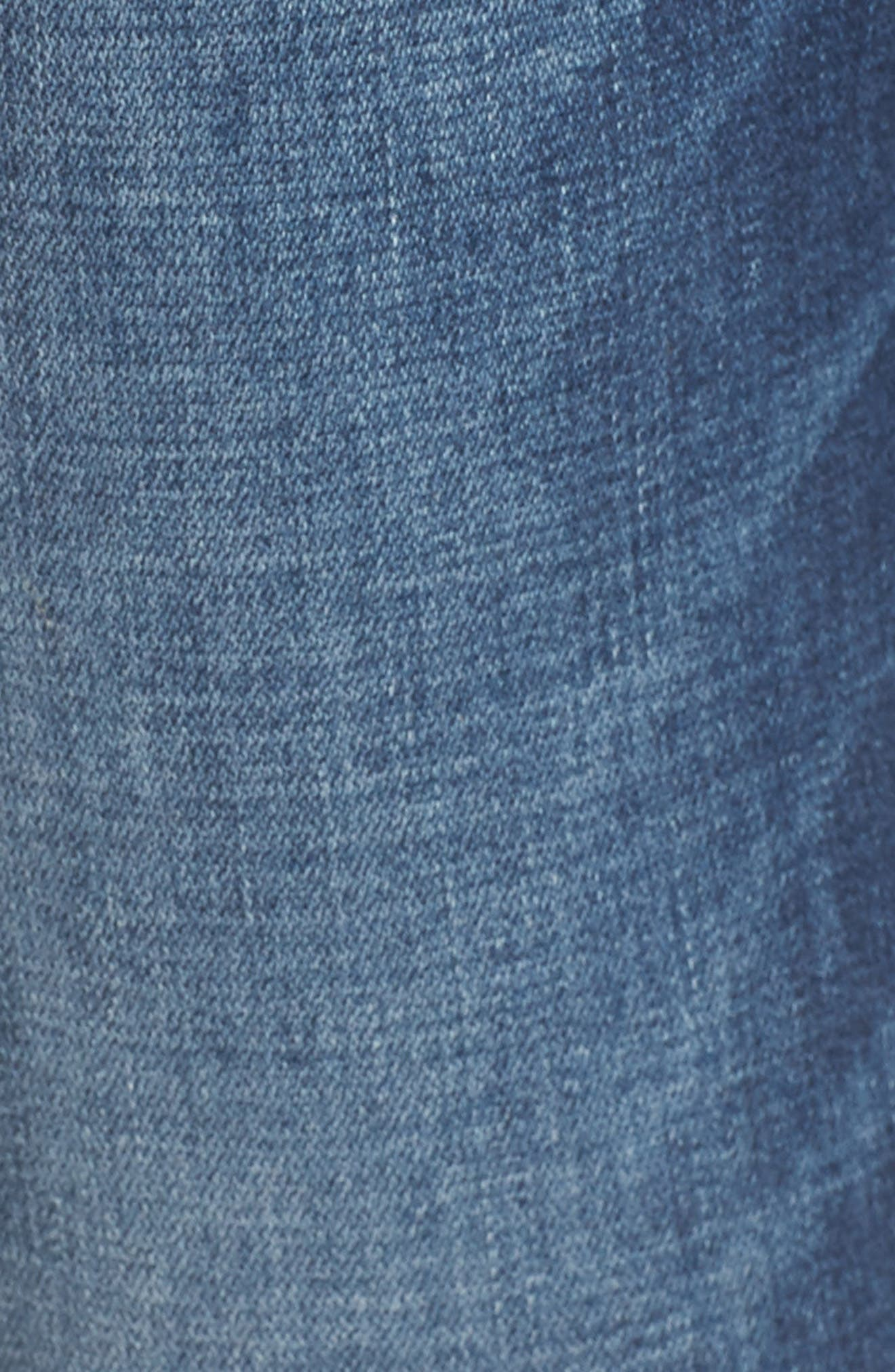 Jennie Deconstructed Skinny Jeans,                             Alternate thumbnail 5, color,                             401