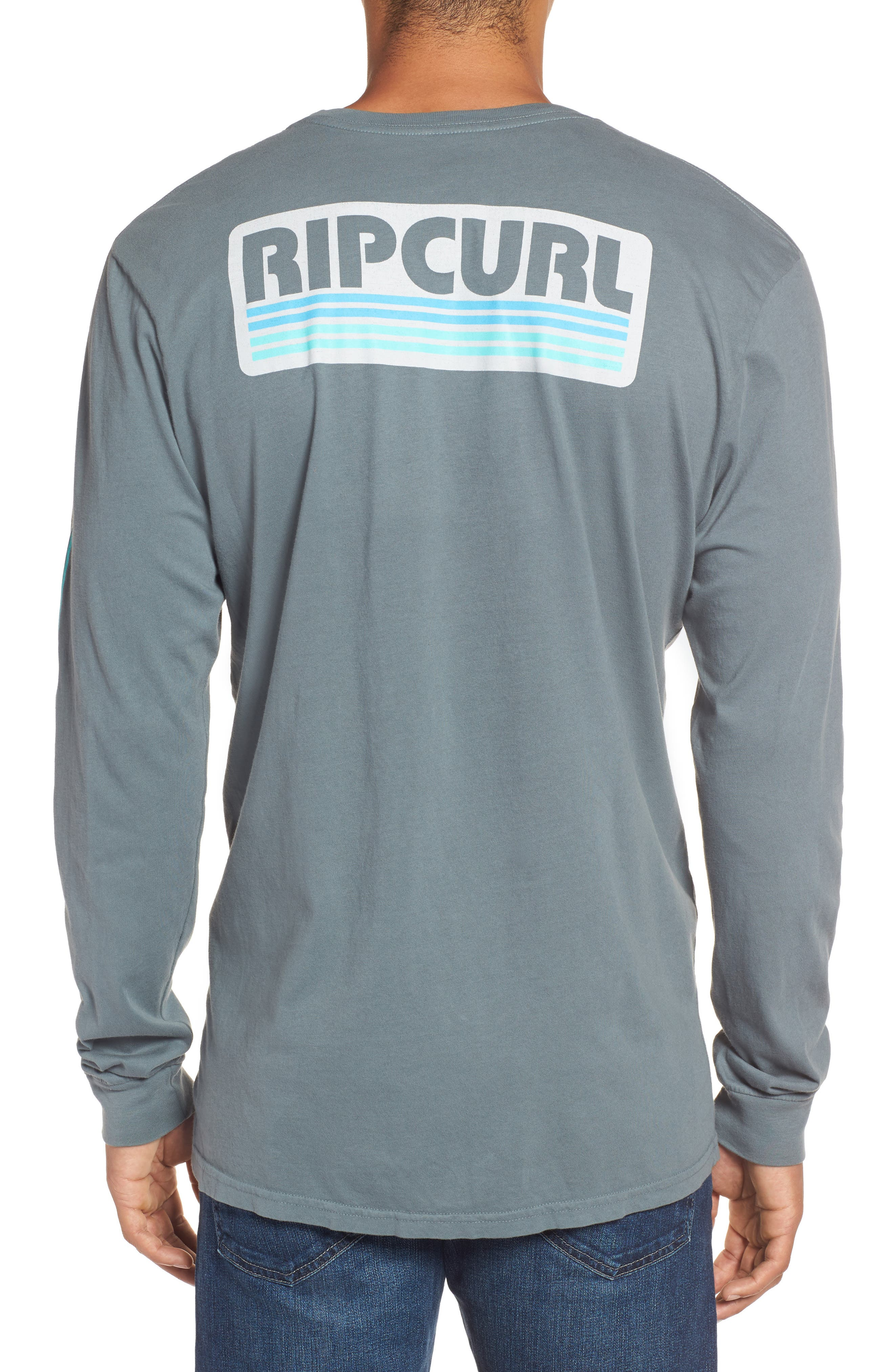 The Pump Long Sleeve Logo Graphic T-Shirt,                             Alternate thumbnail 2, color,                             443