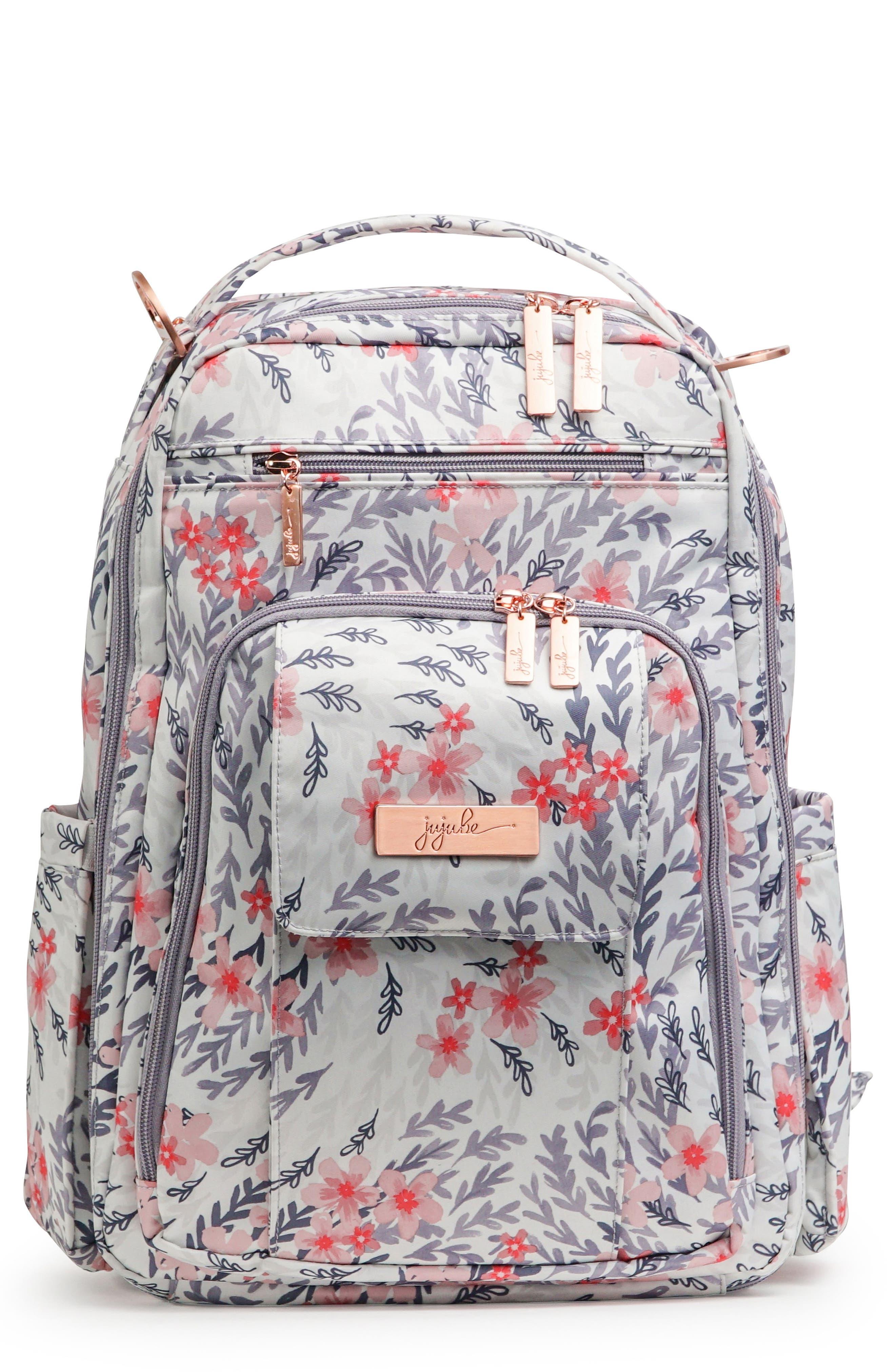 Be Right Back Diaper Backpack,                         Main,                         color, SAKURA SWIRL
