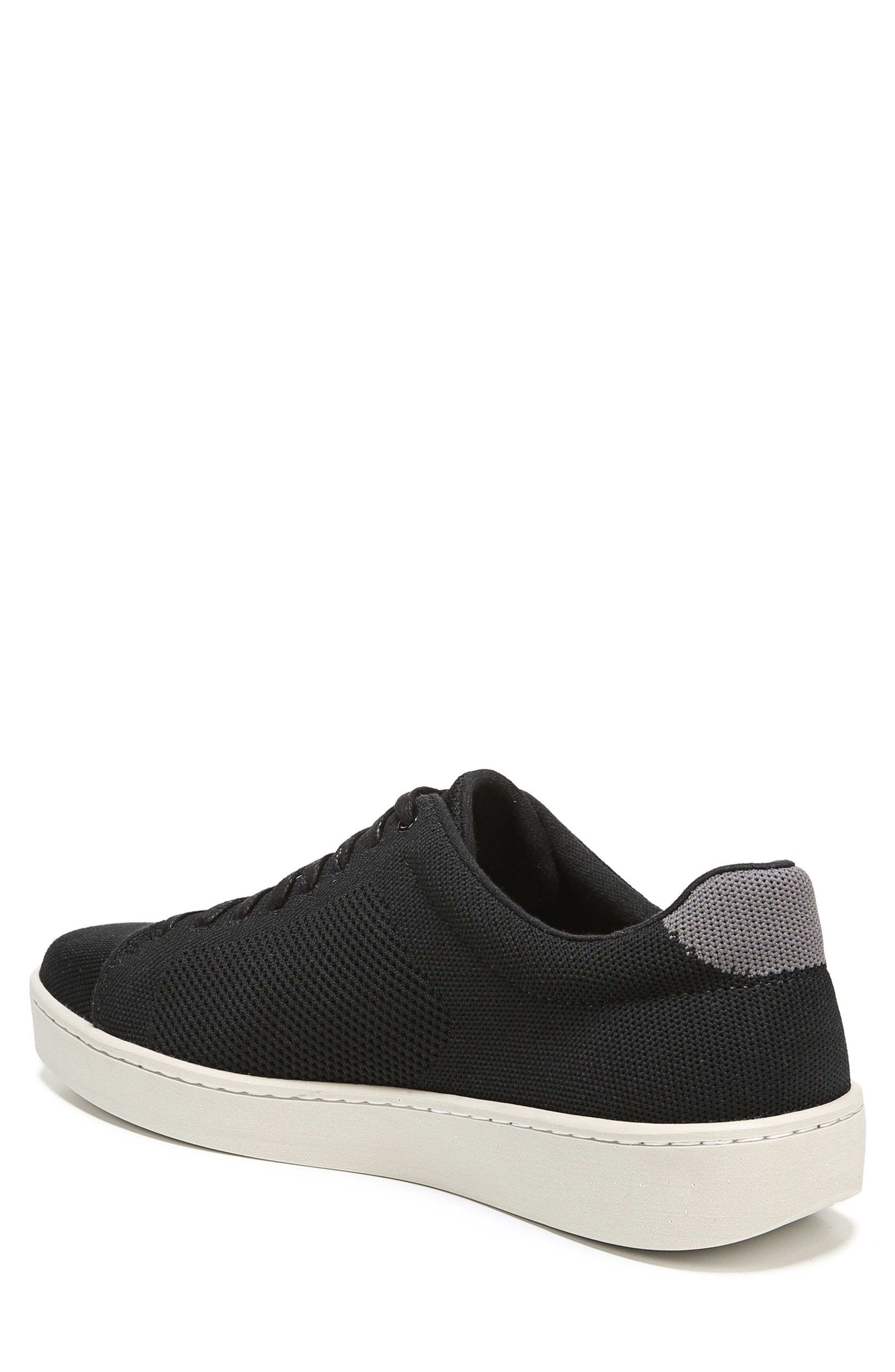 Silos Knit Low Top Sneaker,                             Alternate thumbnail 2, color,                             BLACK/ GRAPHITE