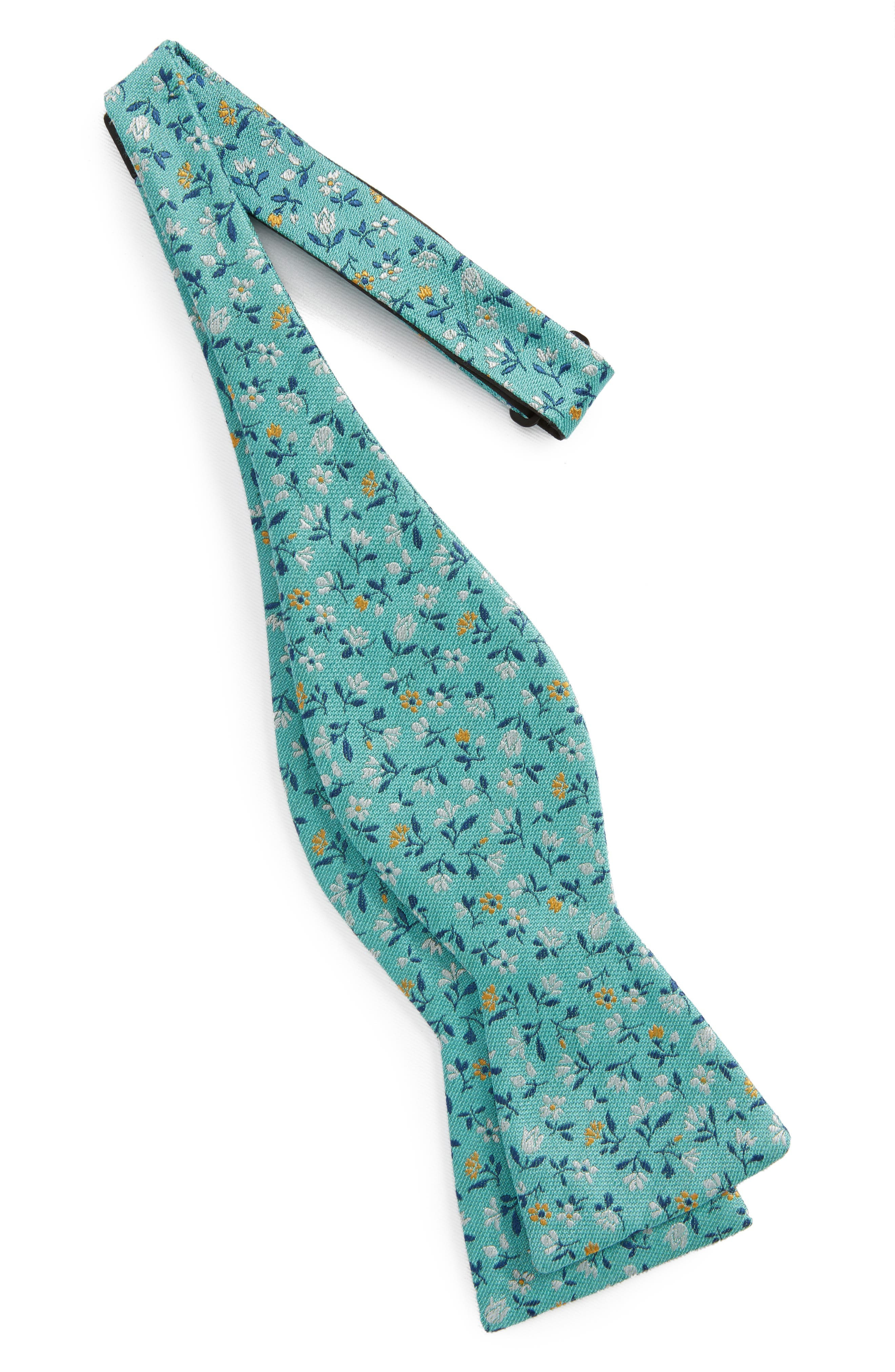 Floral Acres Bow Tie,                             Alternate thumbnail 4, color,
