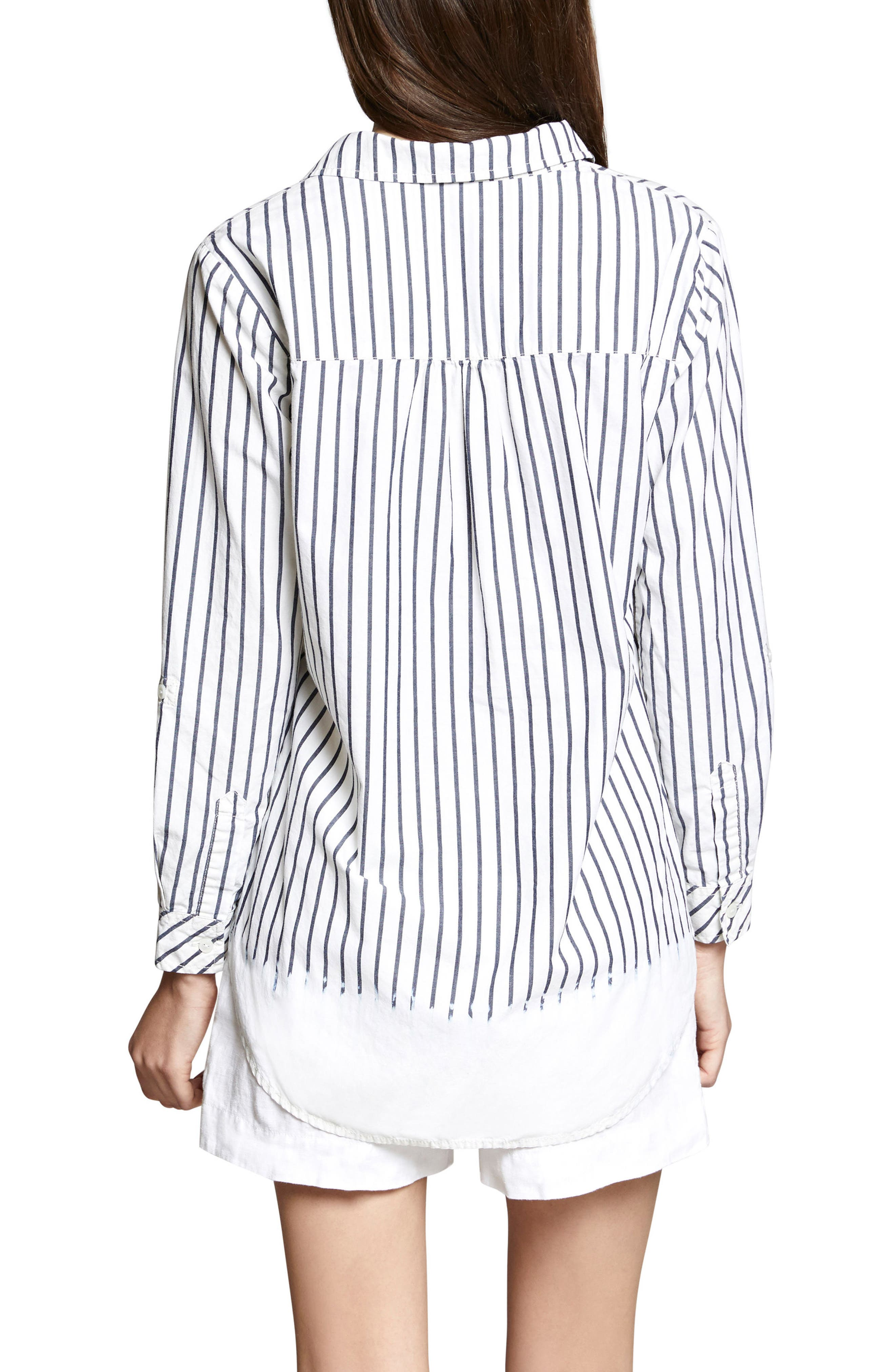Miles Maxi Stripe Tunic Top,                             Alternate thumbnail 2, color,