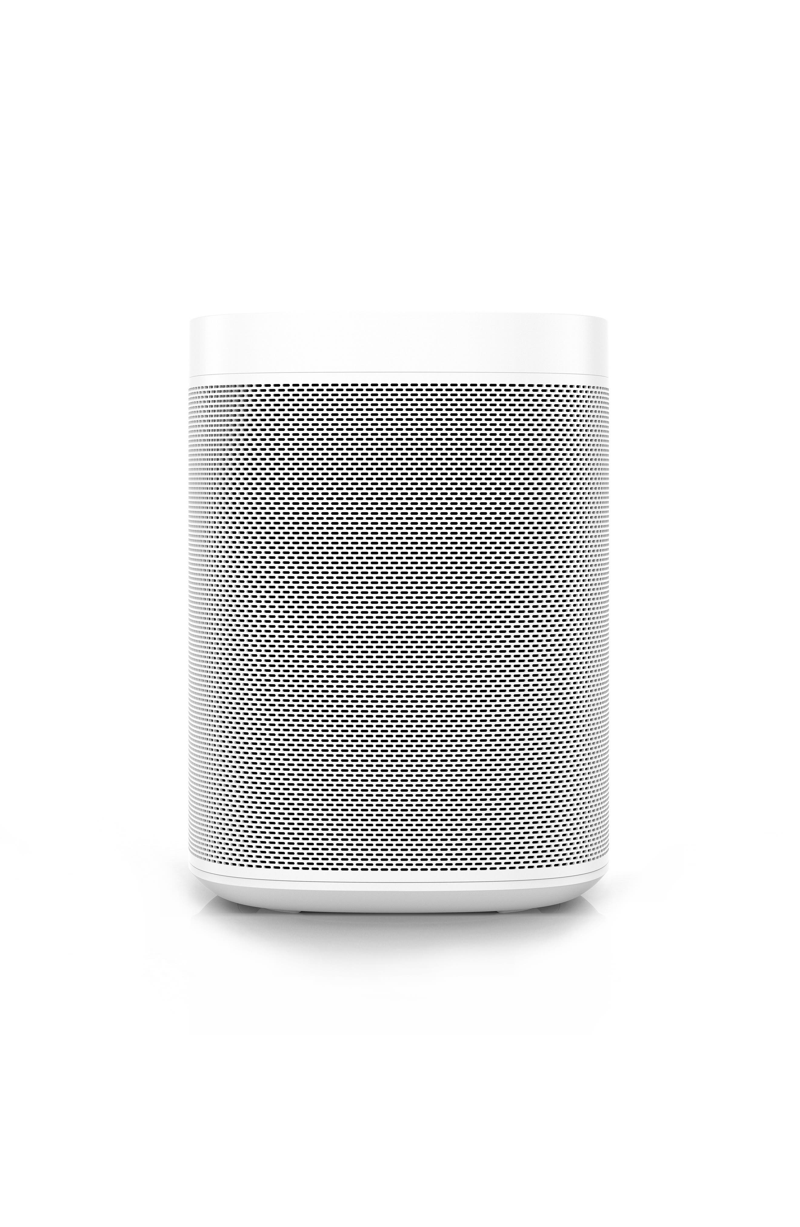 One Voice Controlled Smart Speaker,                             Alternate thumbnail 7, color,                             WHITE