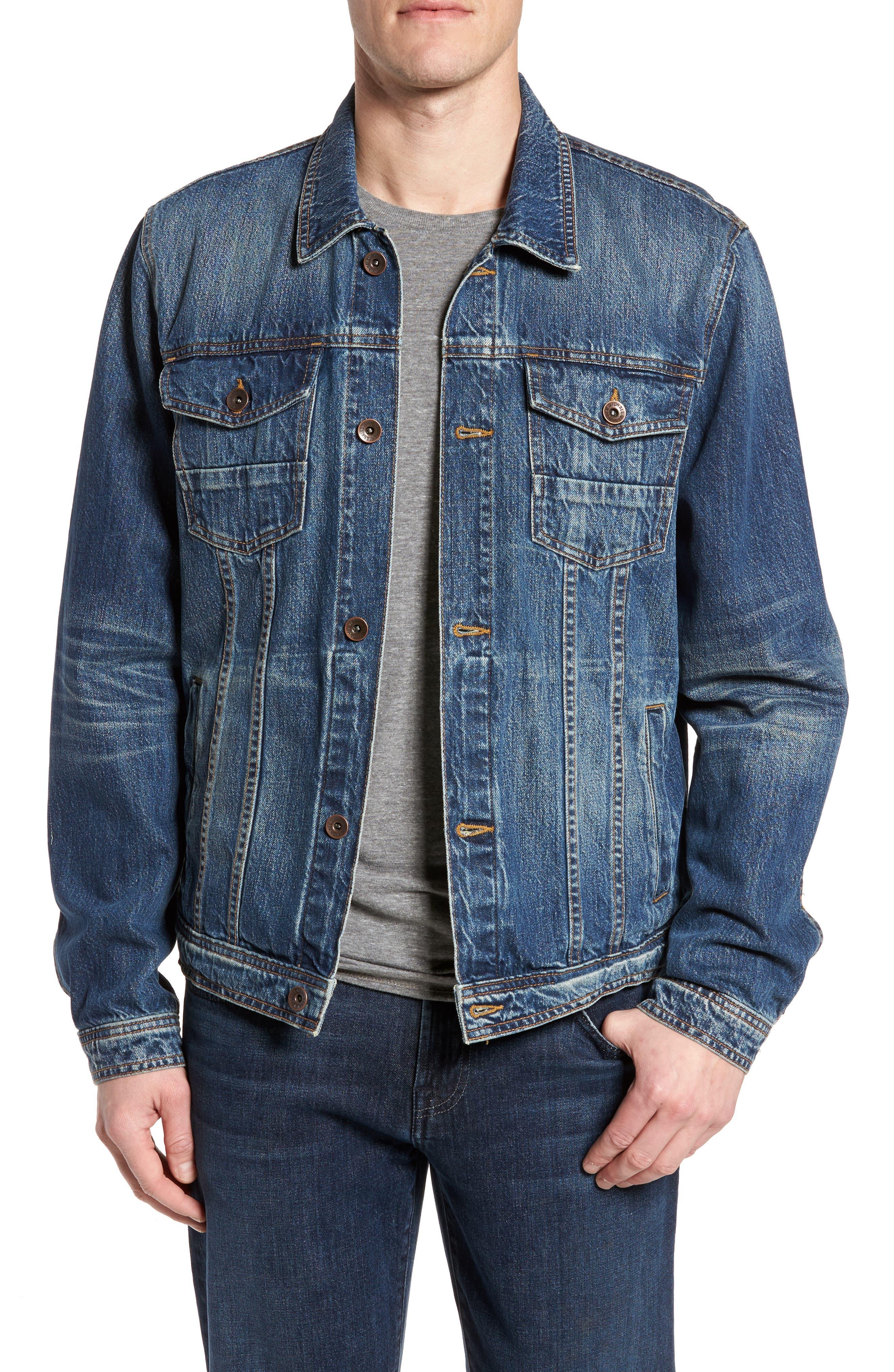 Trucker Jacket,                         Main,                         color, LEGEND