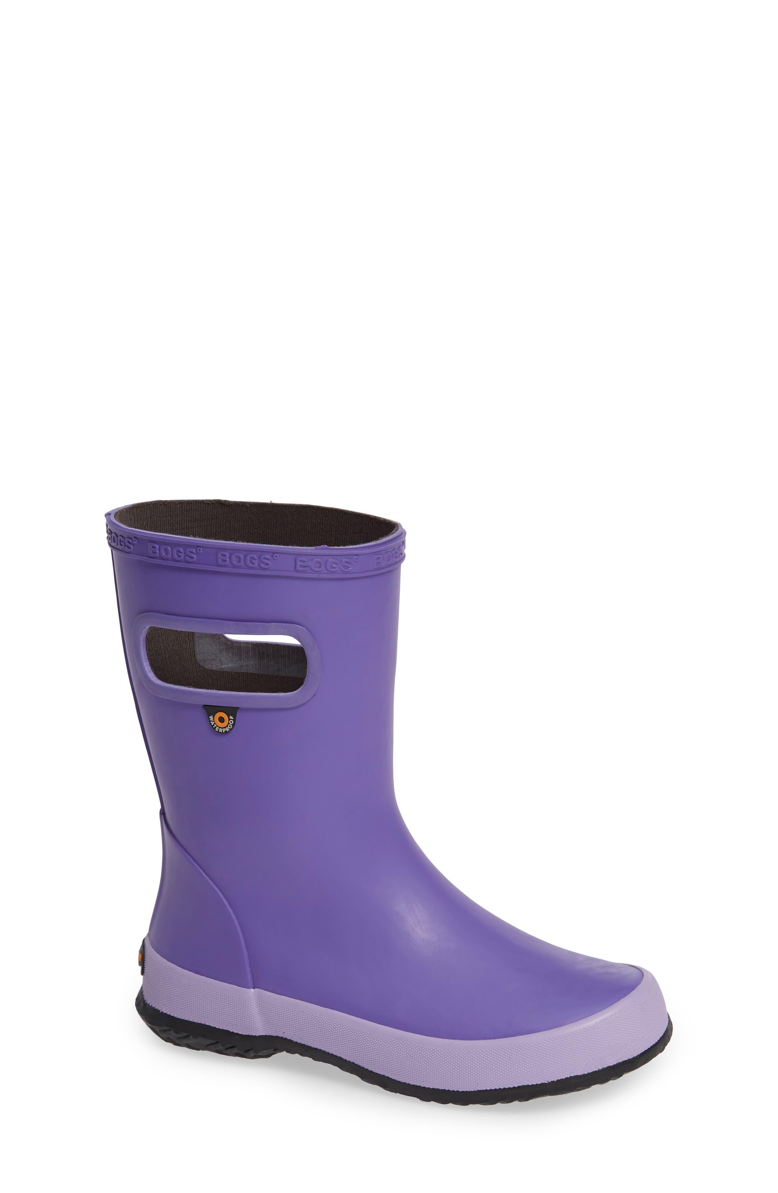 BOGS Skipper Solid Rubber Waterproof Rain Boot, Main, color, 531