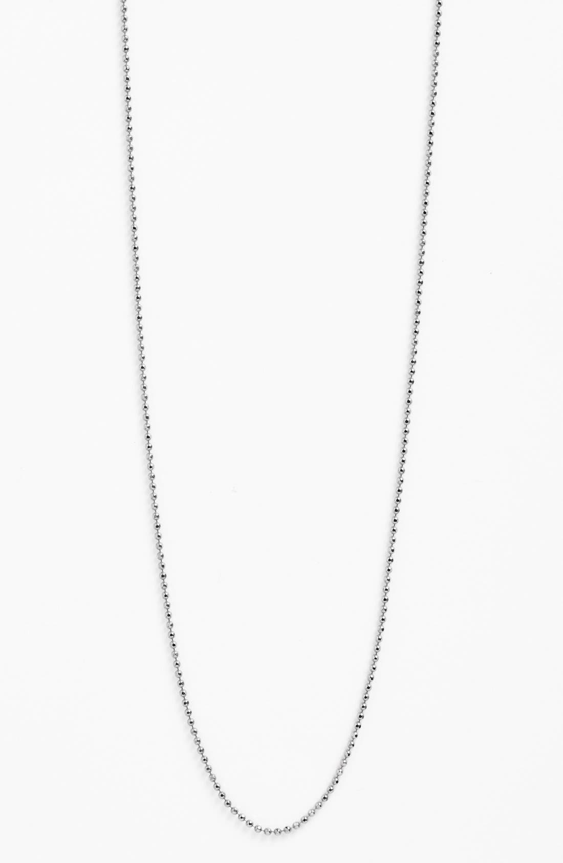Long Ball Chain Necklace,                             Alternate thumbnail 4, color,                             040