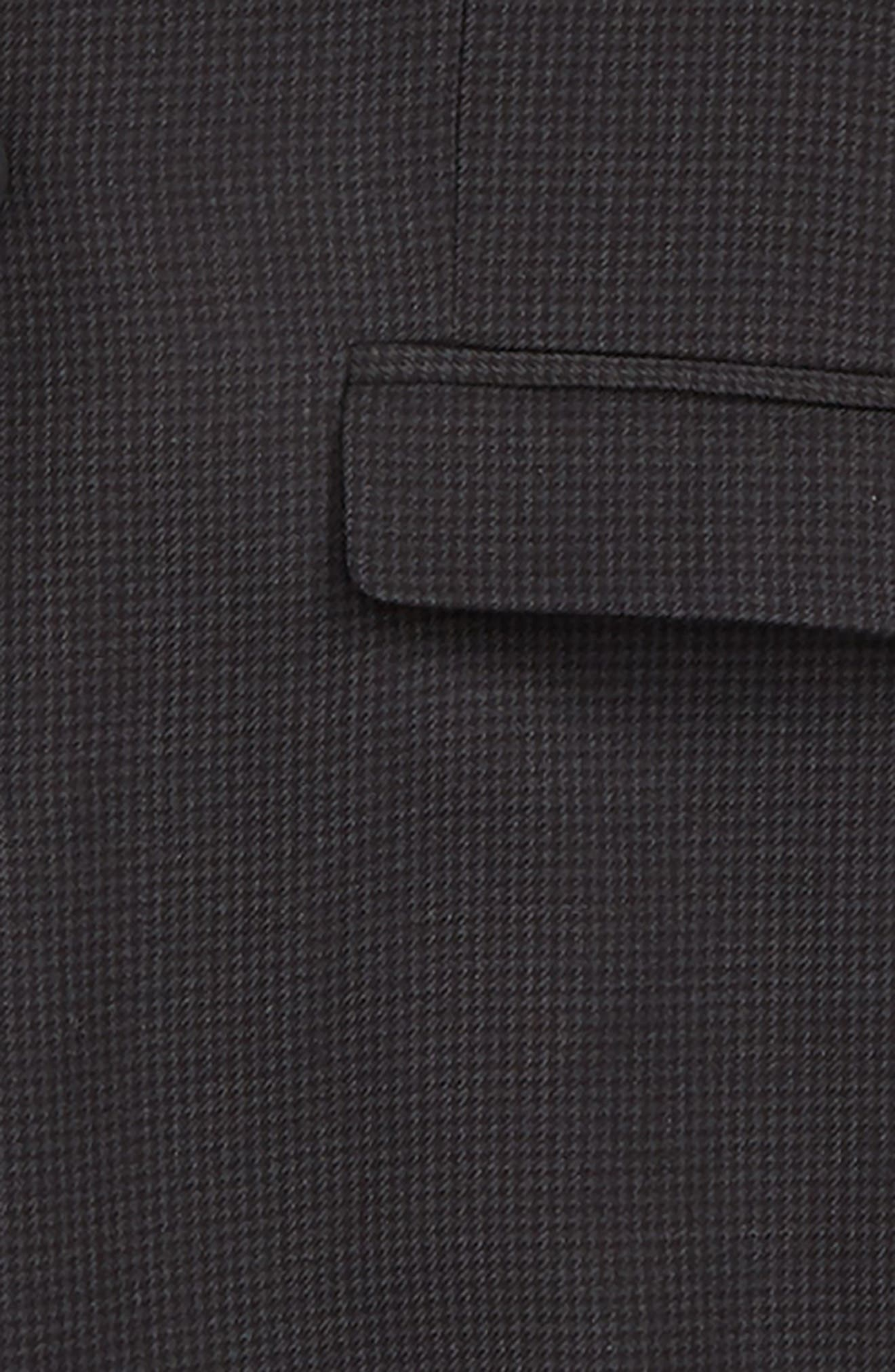 Mod Two-Piece Suit,                             Alternate thumbnail 2, color,                             CHARCOAL HOUNDSTOOTH