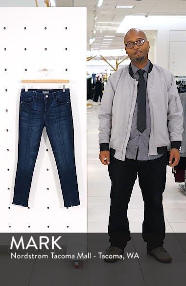 Florence Instasculpt Split Hem Crop Skinny Jeans, sales video thumbnail