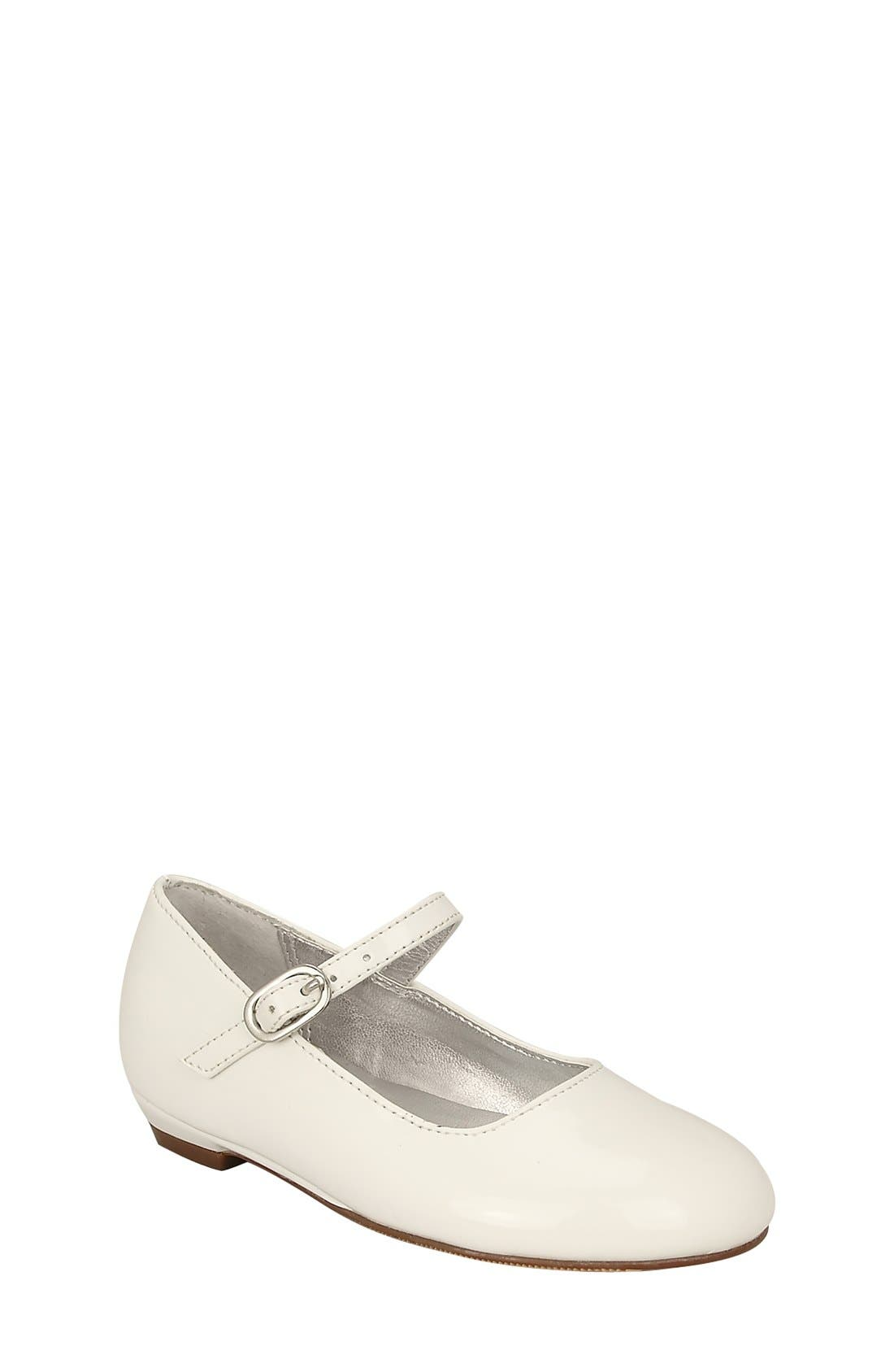 'Lil Seeley' Mary Jane,                         Main,                         color, WHITE PATENT