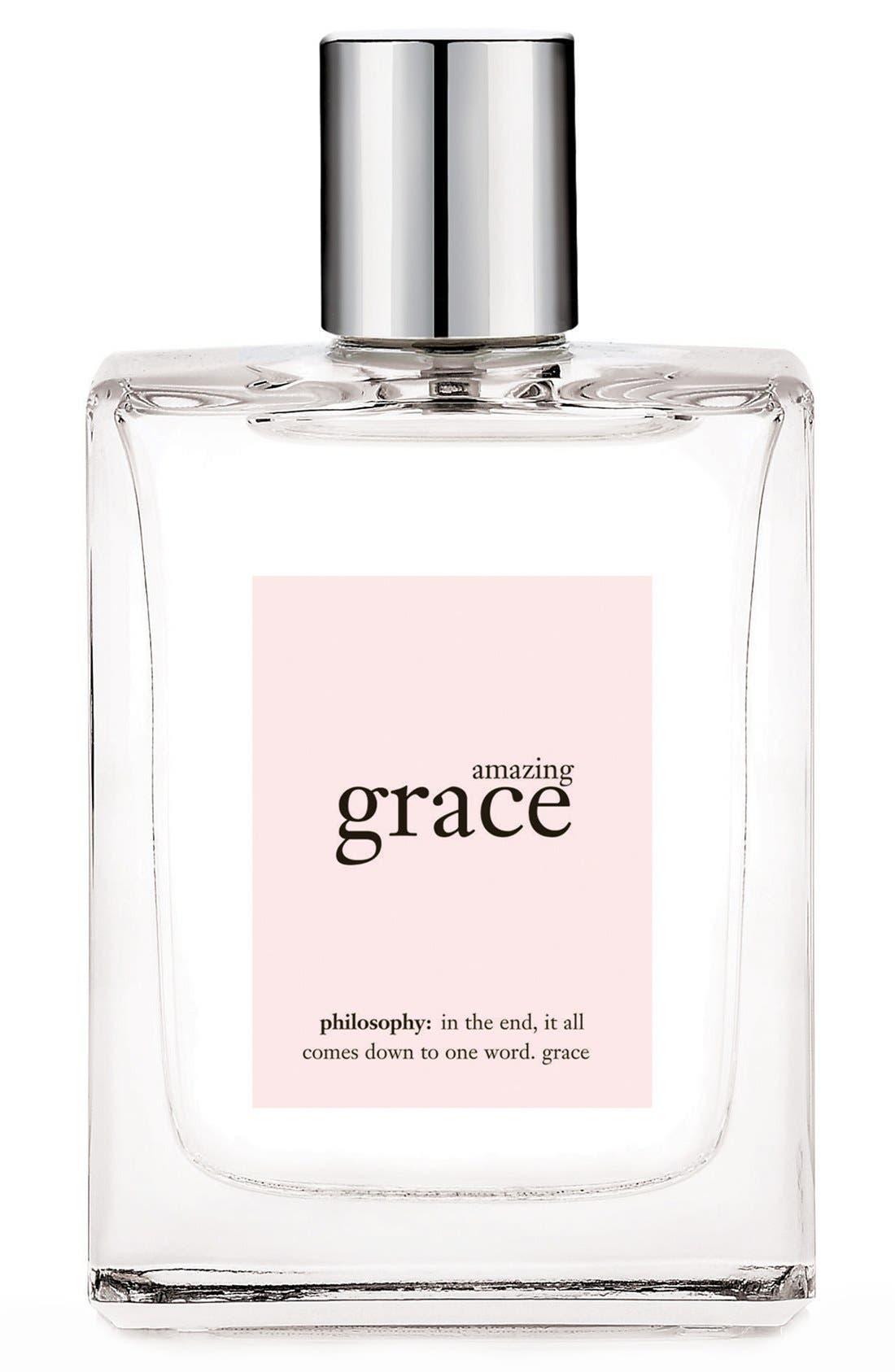 'amazing grace' eau de toilette spray,                             Main thumbnail 3, color,                             NO COLOR 2