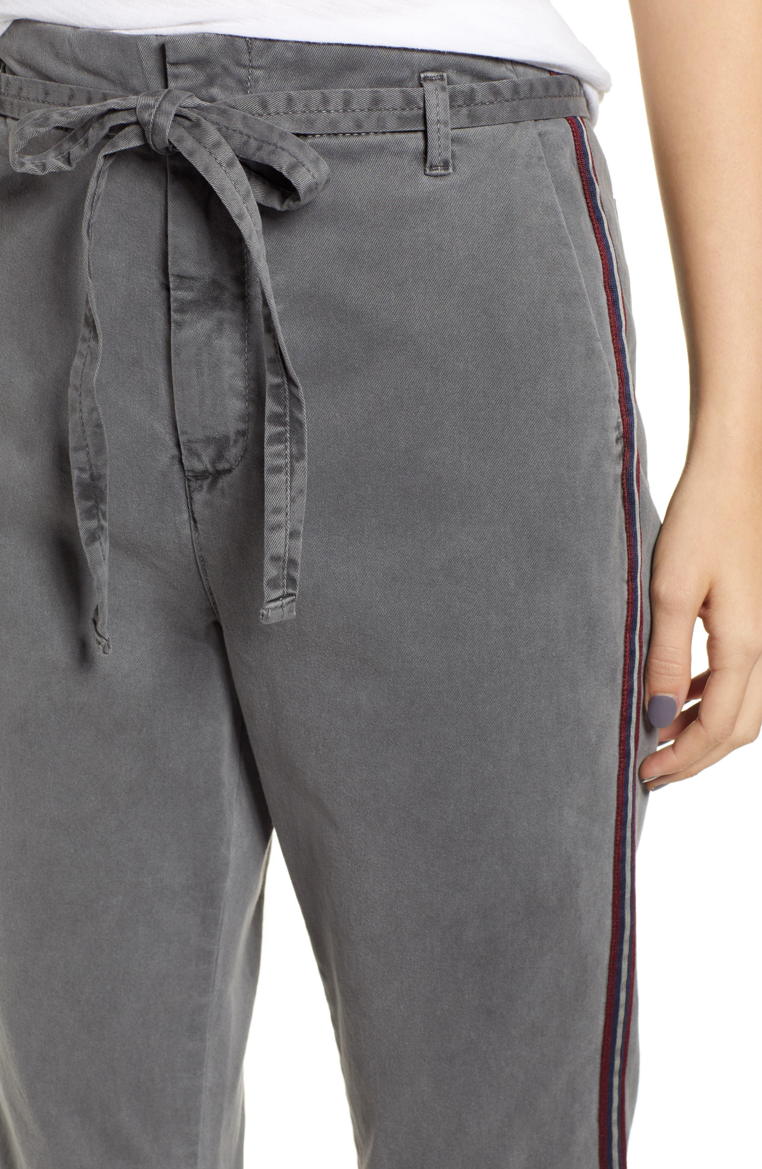 L'Automne Pants,                             Alternate thumbnail 4, color,                             P. CHARCOL