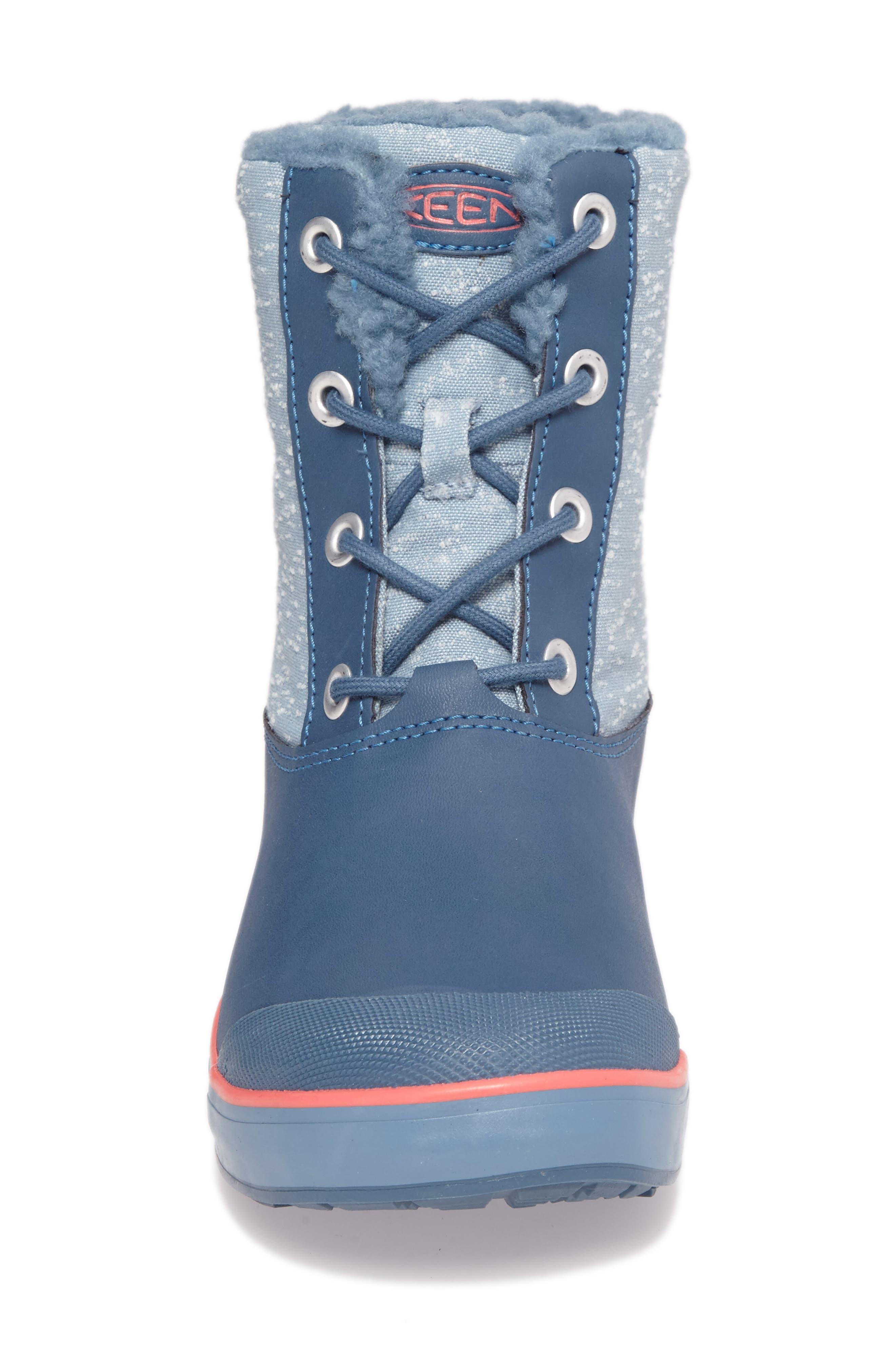 Elsa Waterproof Faux Fur Lined Snow Boot,                             Alternate thumbnail 18, color,