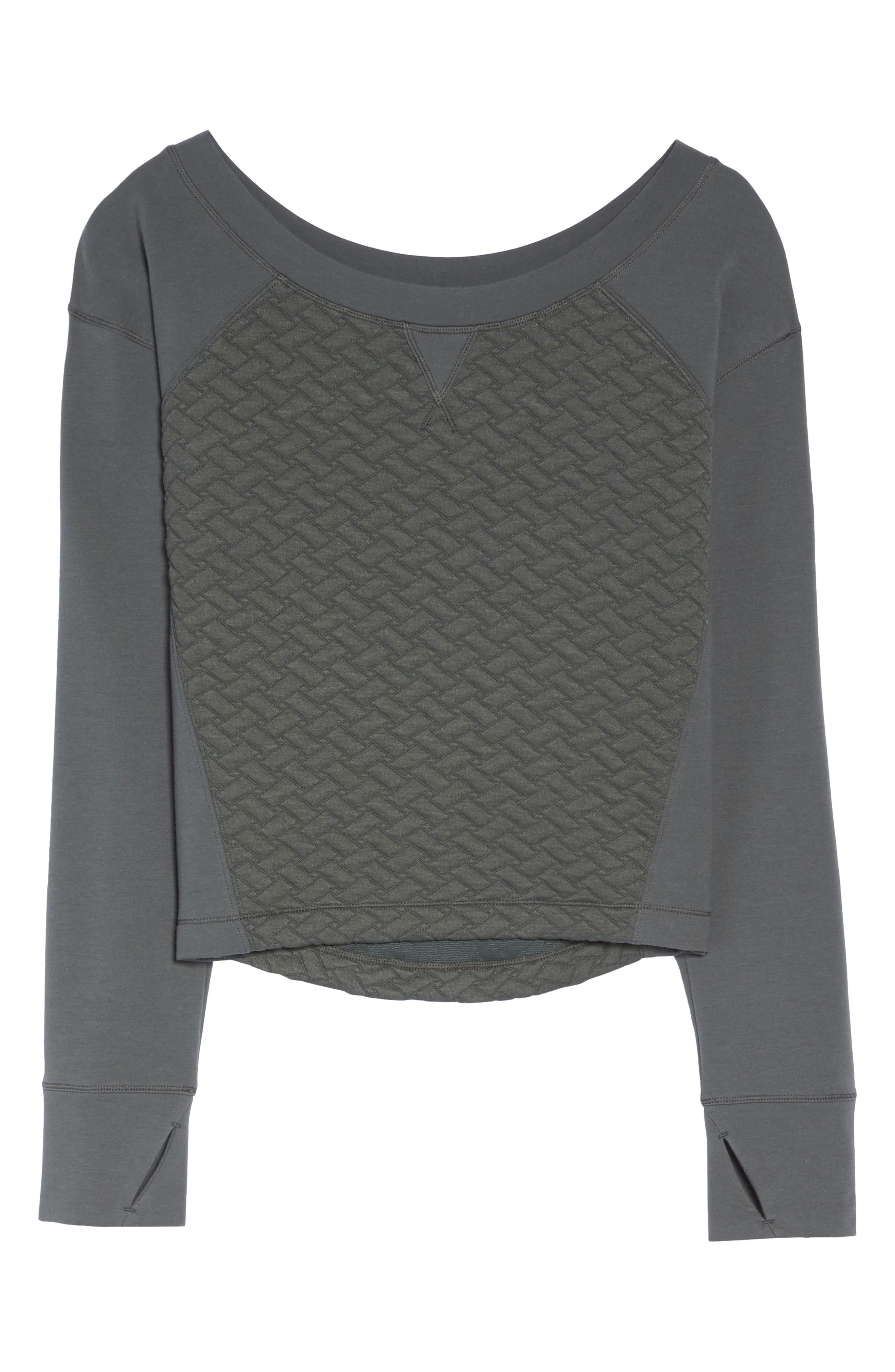 Dance Off Crop Pullover,                             Alternate thumbnail 7, color,                             021