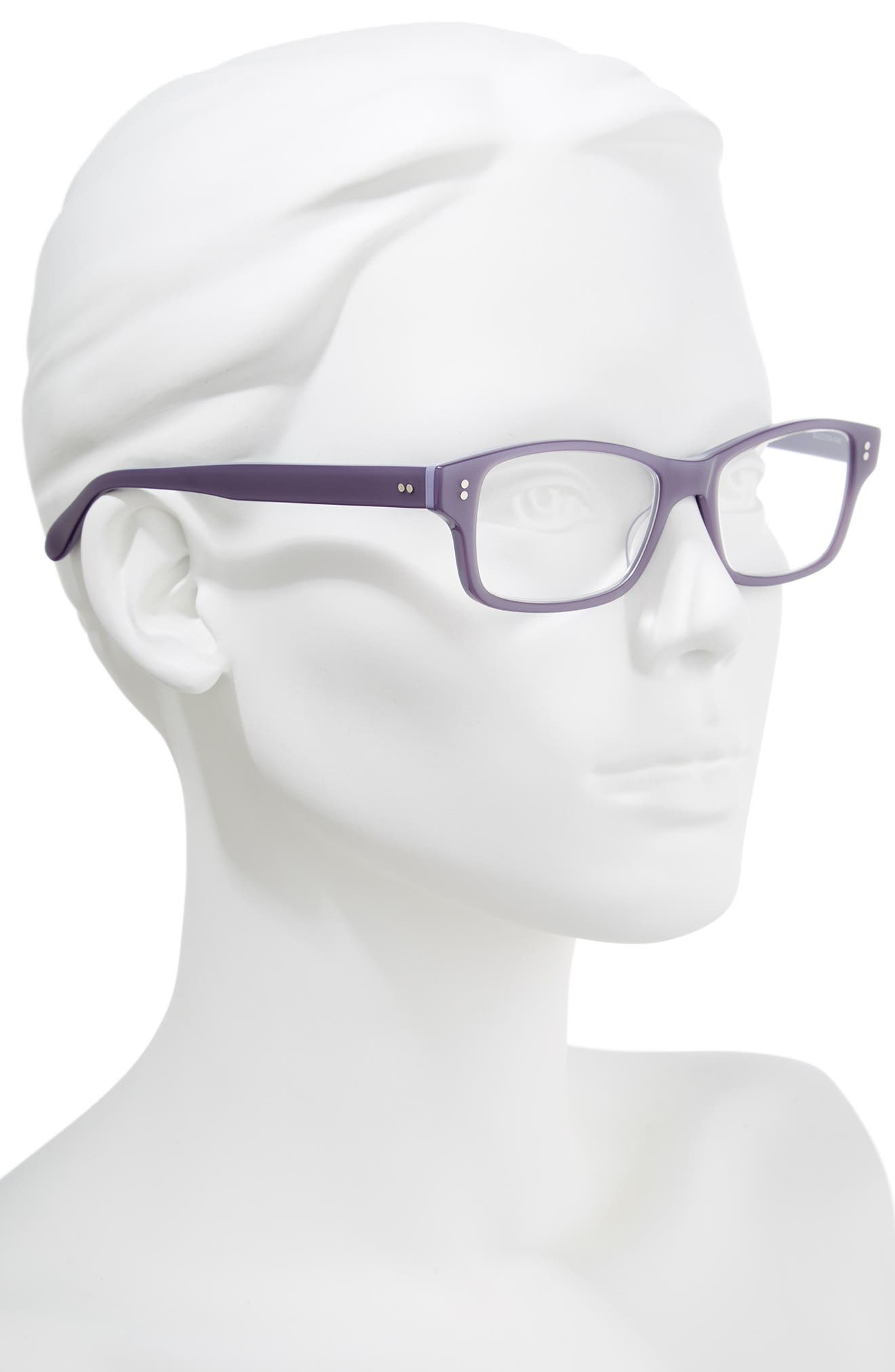 'Jess' 52mm Reading Glasses,                             Alternate thumbnail 2, color,                             VIOLET