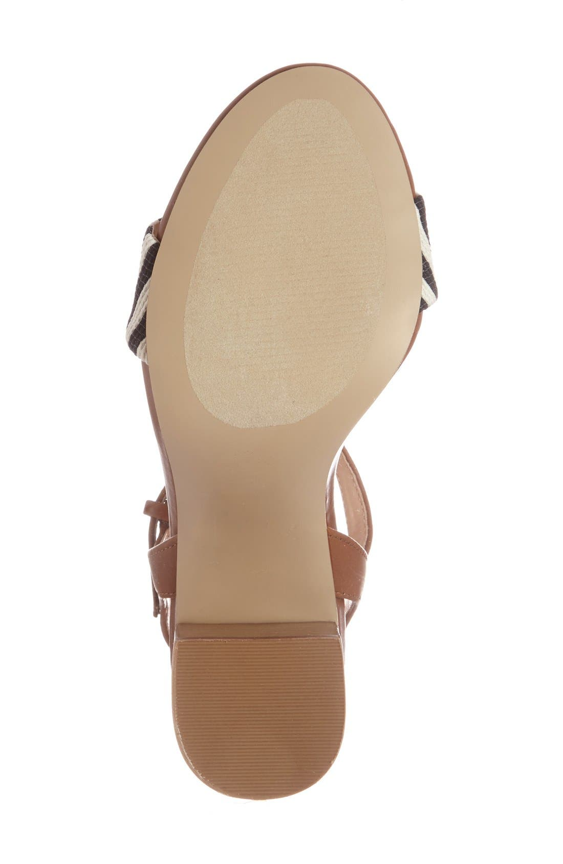 'Linny' Ankle Strap Sandal,                             Alternate thumbnail 11, color,