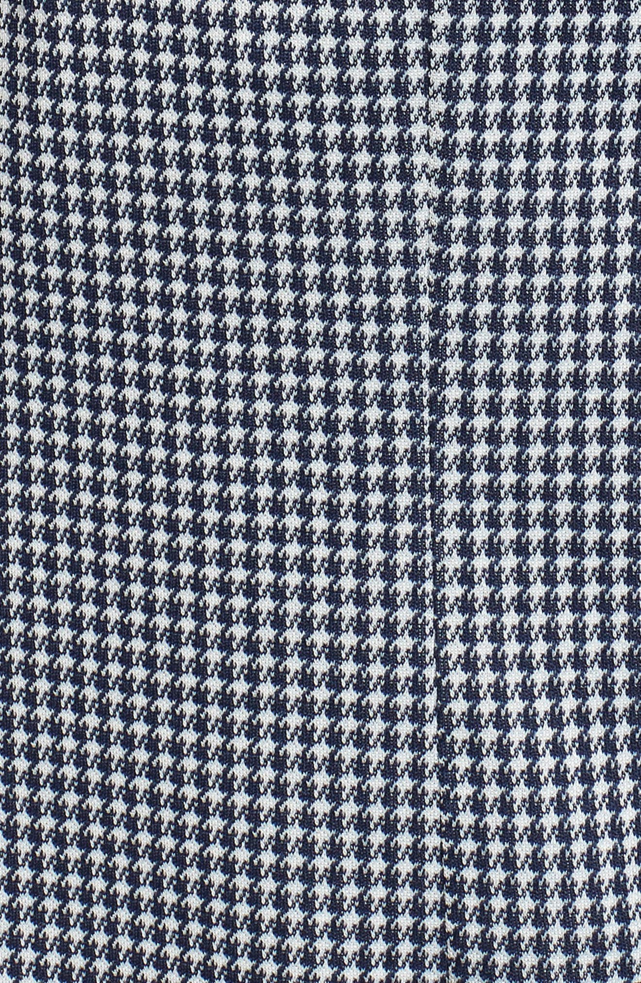 Slim Fit Stretch Houndstooth Sport Coat,                             Alternate thumbnail 6, color,                             NAVY CHECK