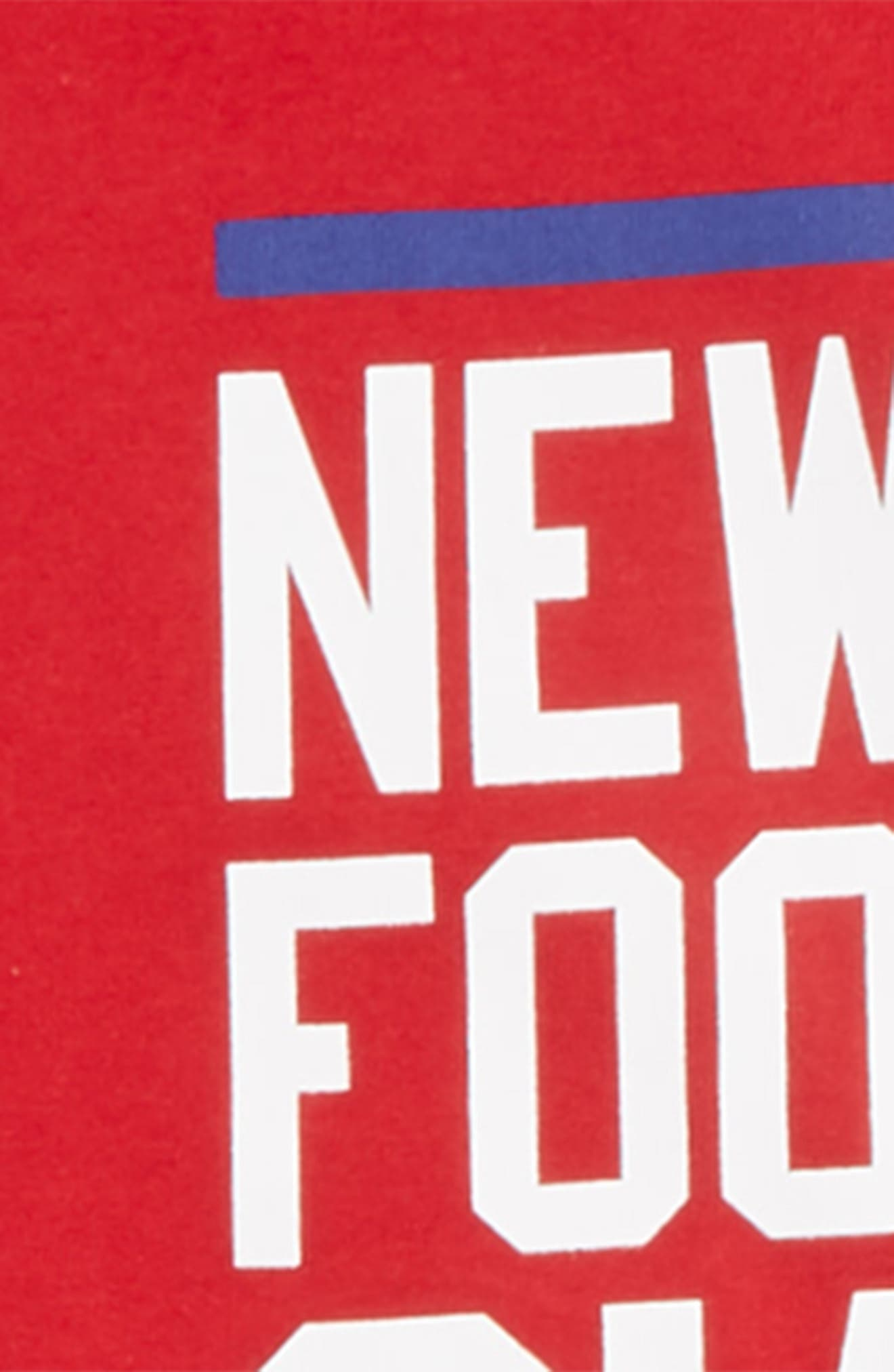 Dry Hyperlocal NFL New York Giants T-Shirt,                             Alternate thumbnail 2, color,                             RED