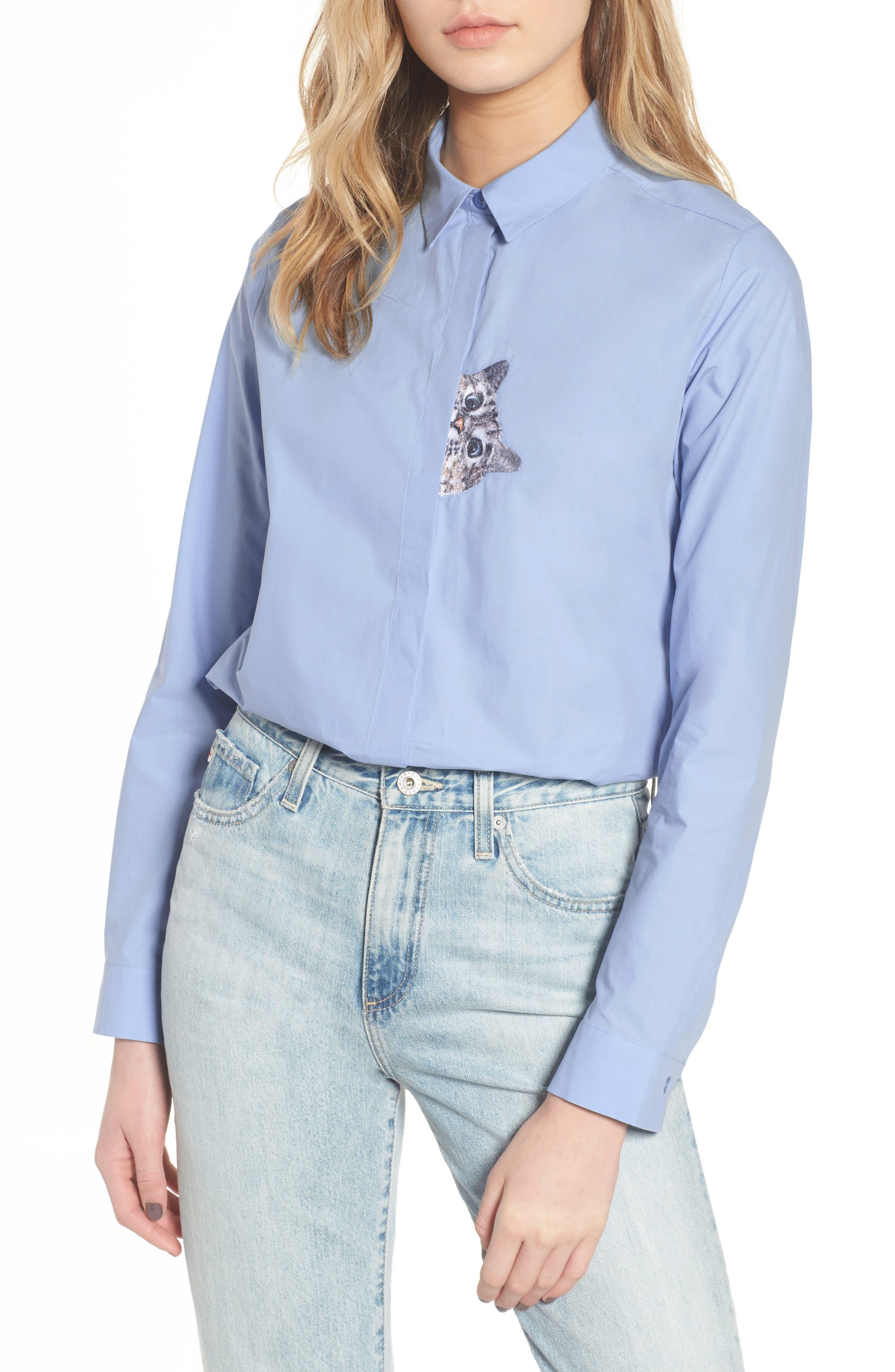 Leonide Shirt,                             Main thumbnail 1, color,                             400
