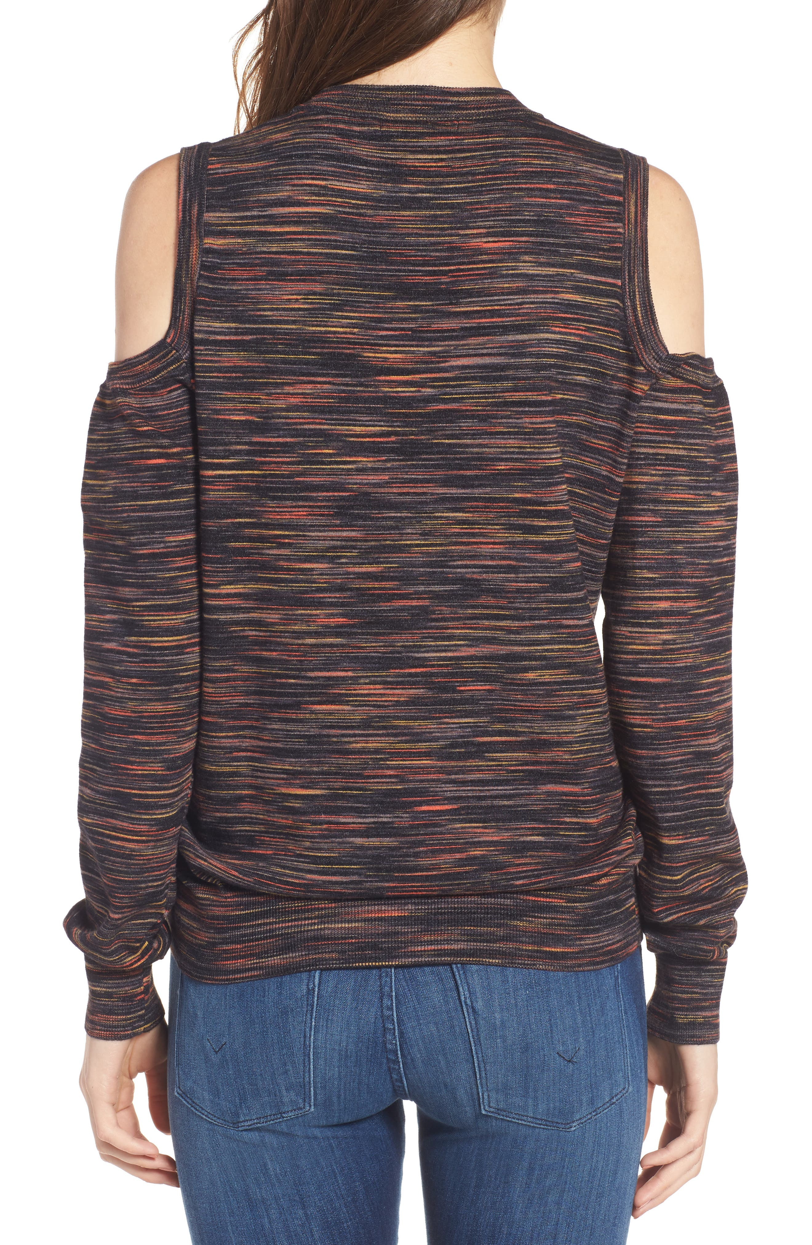 Page Cold Shoulder Sweater,                             Alternate thumbnail 2, color,                             021