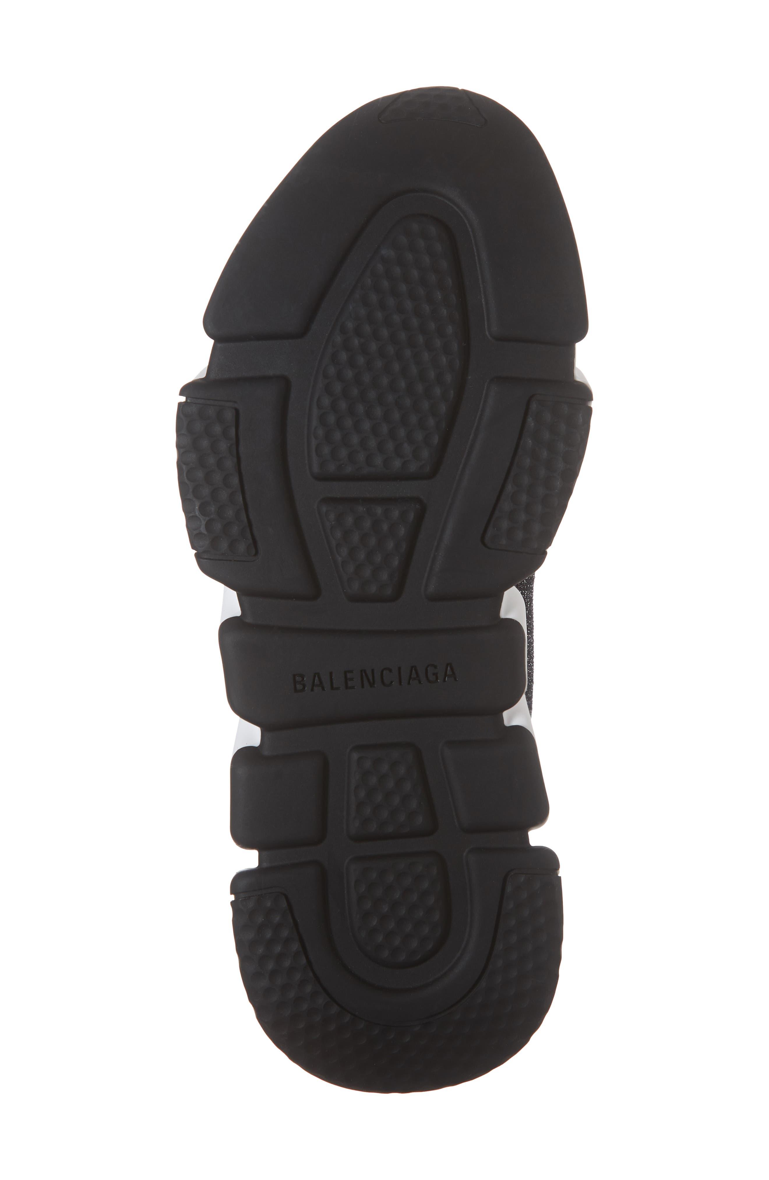Speed Knit Sneaker,                             Alternate thumbnail 6, color,                             BLACK PEPPER