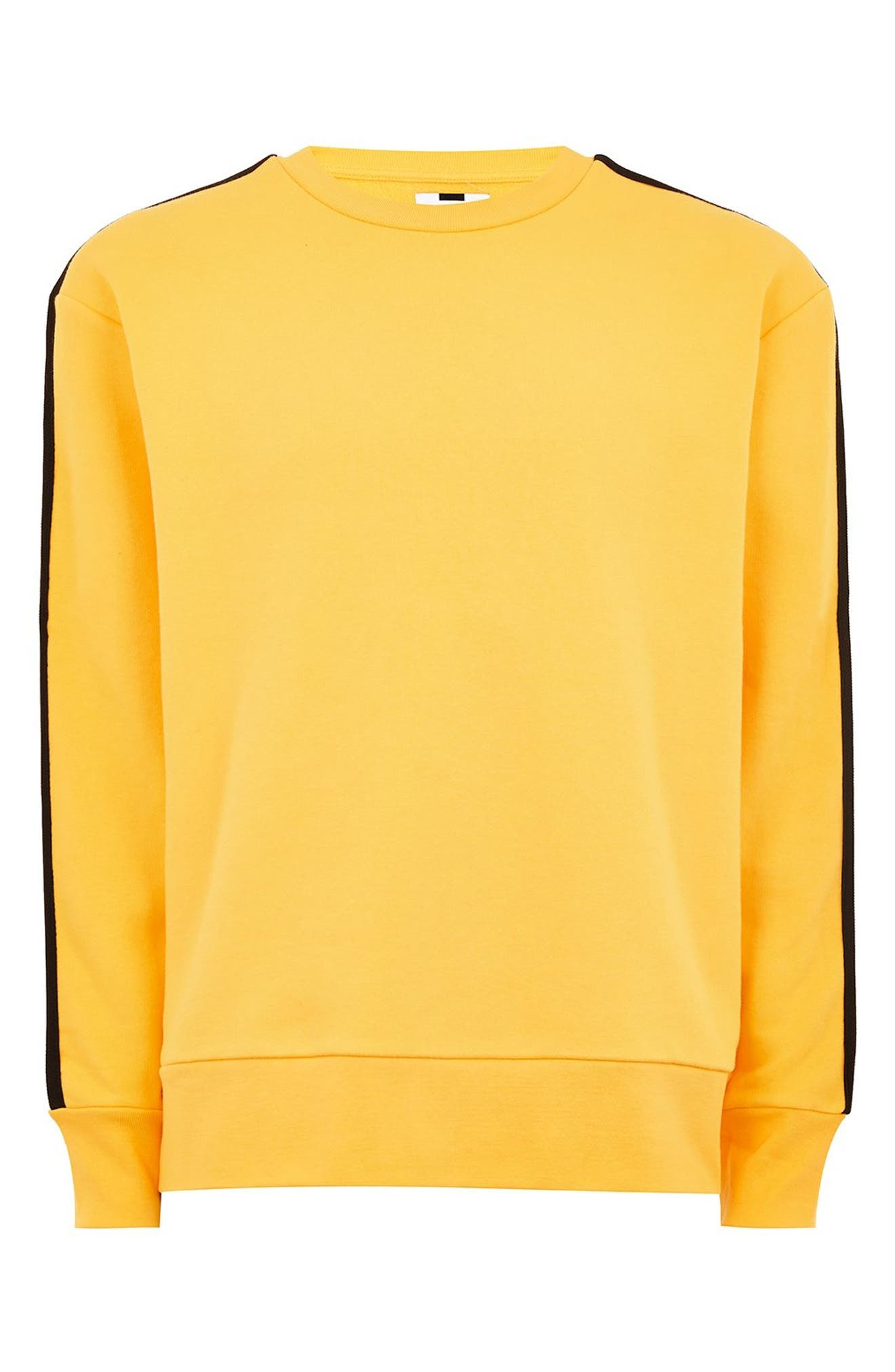 Taped Classic Fit Sweatshirt,                             Alternate thumbnail 5, color,                             700