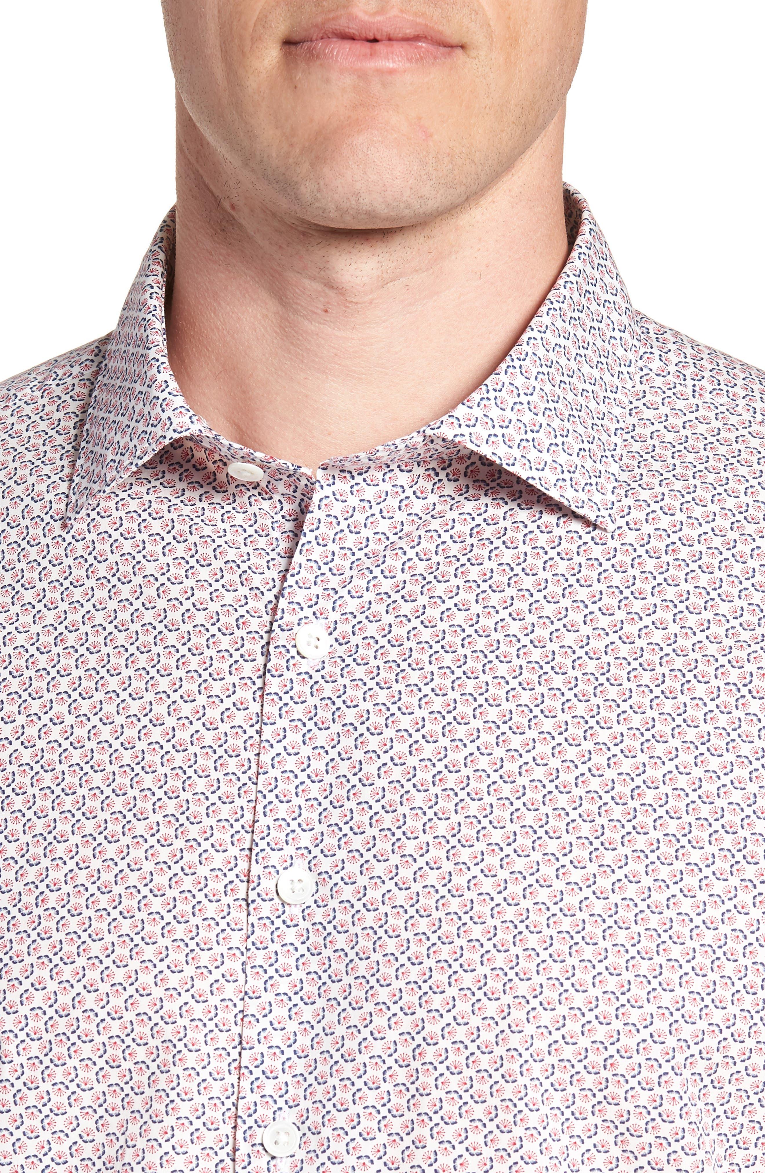 Market Cross Sport Shirt,                             Alternate thumbnail 4, color,                             640