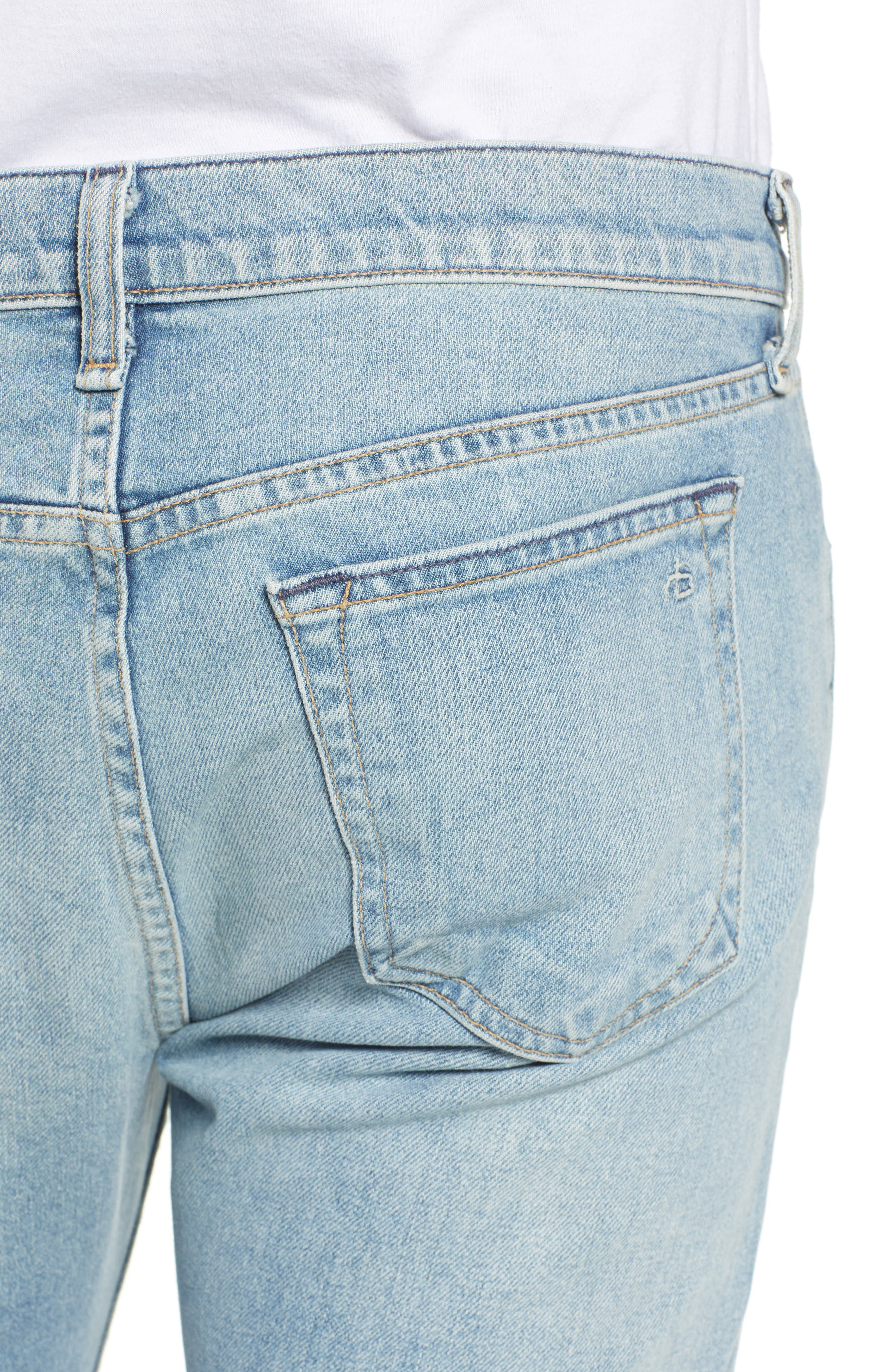 Fit 2 Slim Fit Jeans,                             Alternate thumbnail 4, color,                             JAMIE WITH HOLES