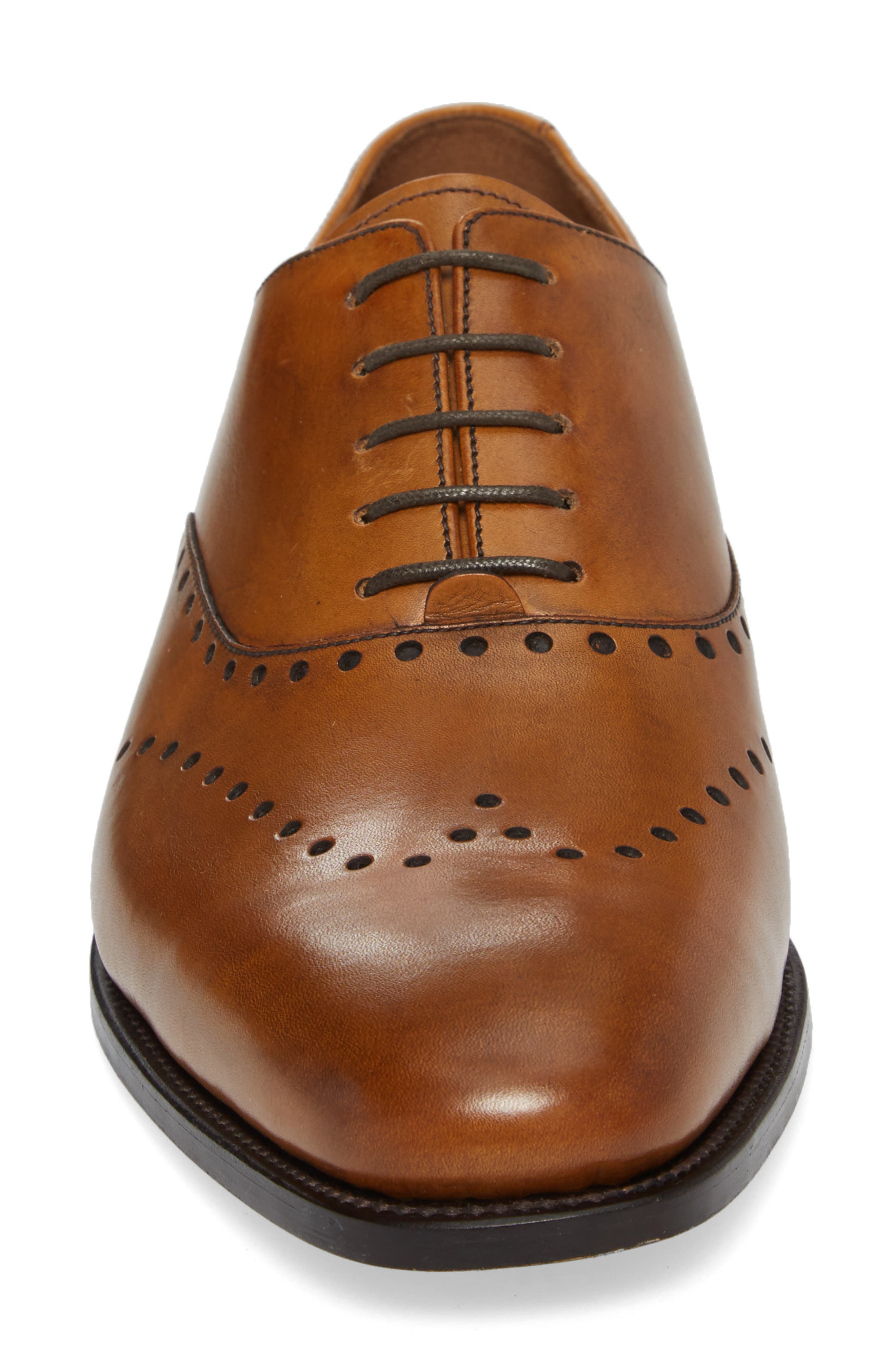Belvedere Wingtip,                             Alternate thumbnail 4, color,                             OAK