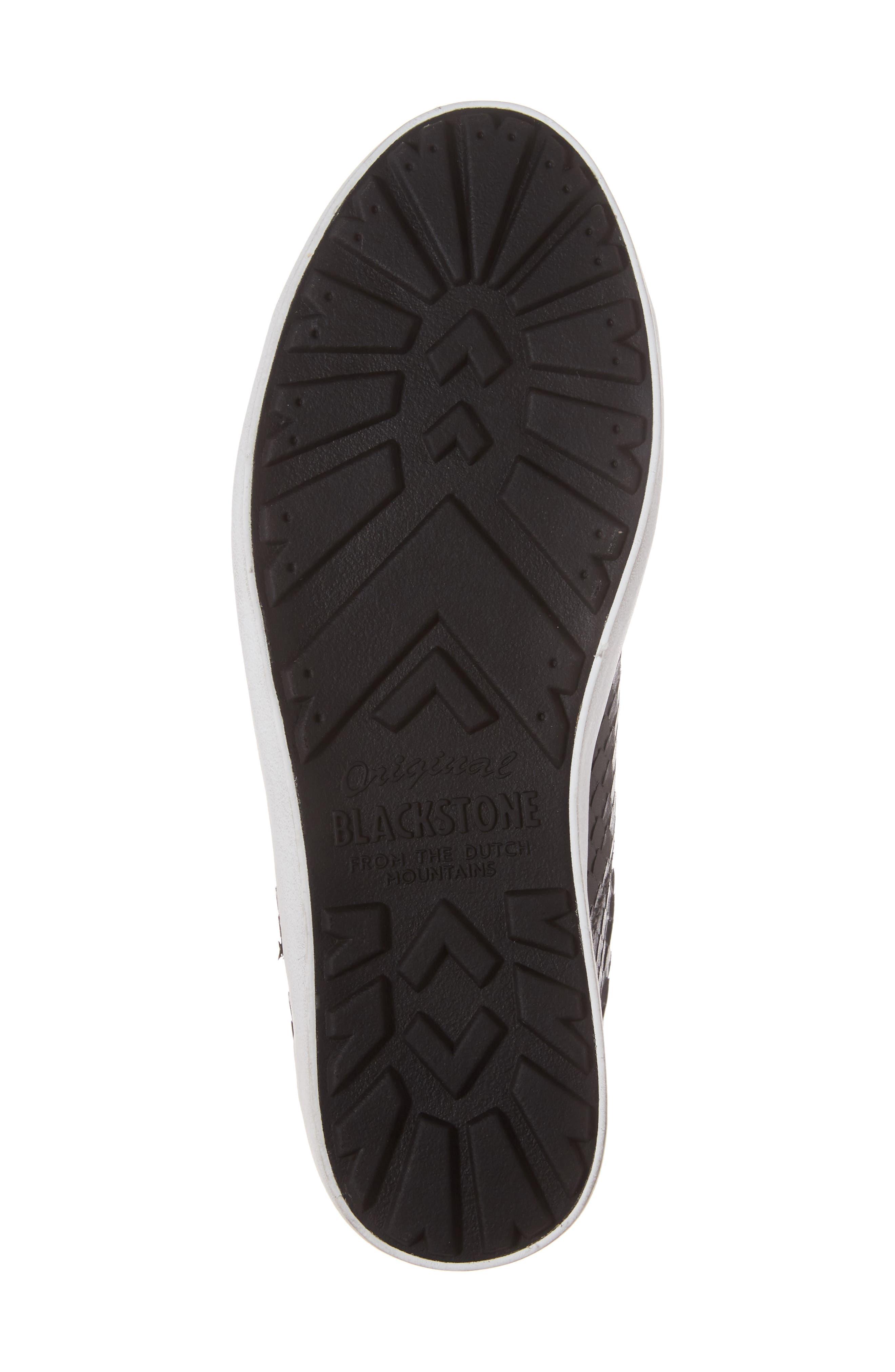 OL25 Sneaker,                             Alternate thumbnail 6, color,                             BLACK LEATHER