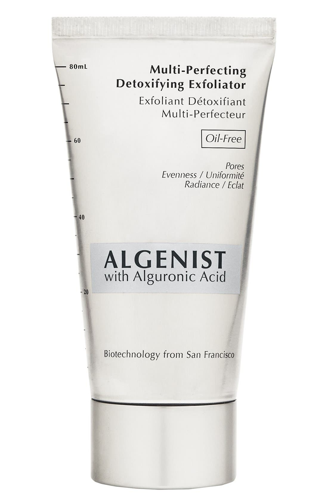 ALGENIST,                             Multi-Perfecting Detoxifying Exfoliator,                             Main thumbnail 1, color,                             000