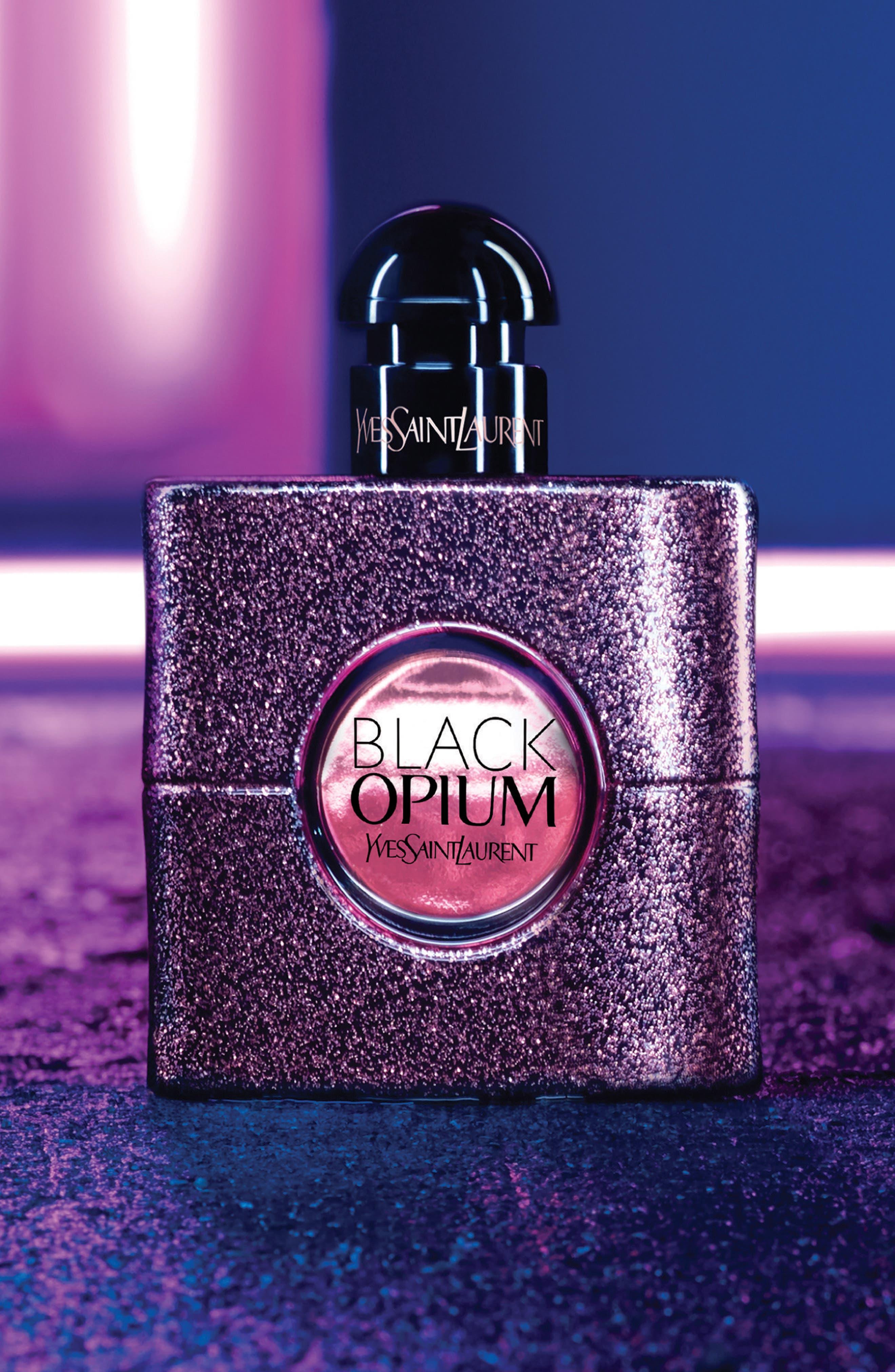 Black Opium Set,                             Alternate thumbnail 4, color,                             000