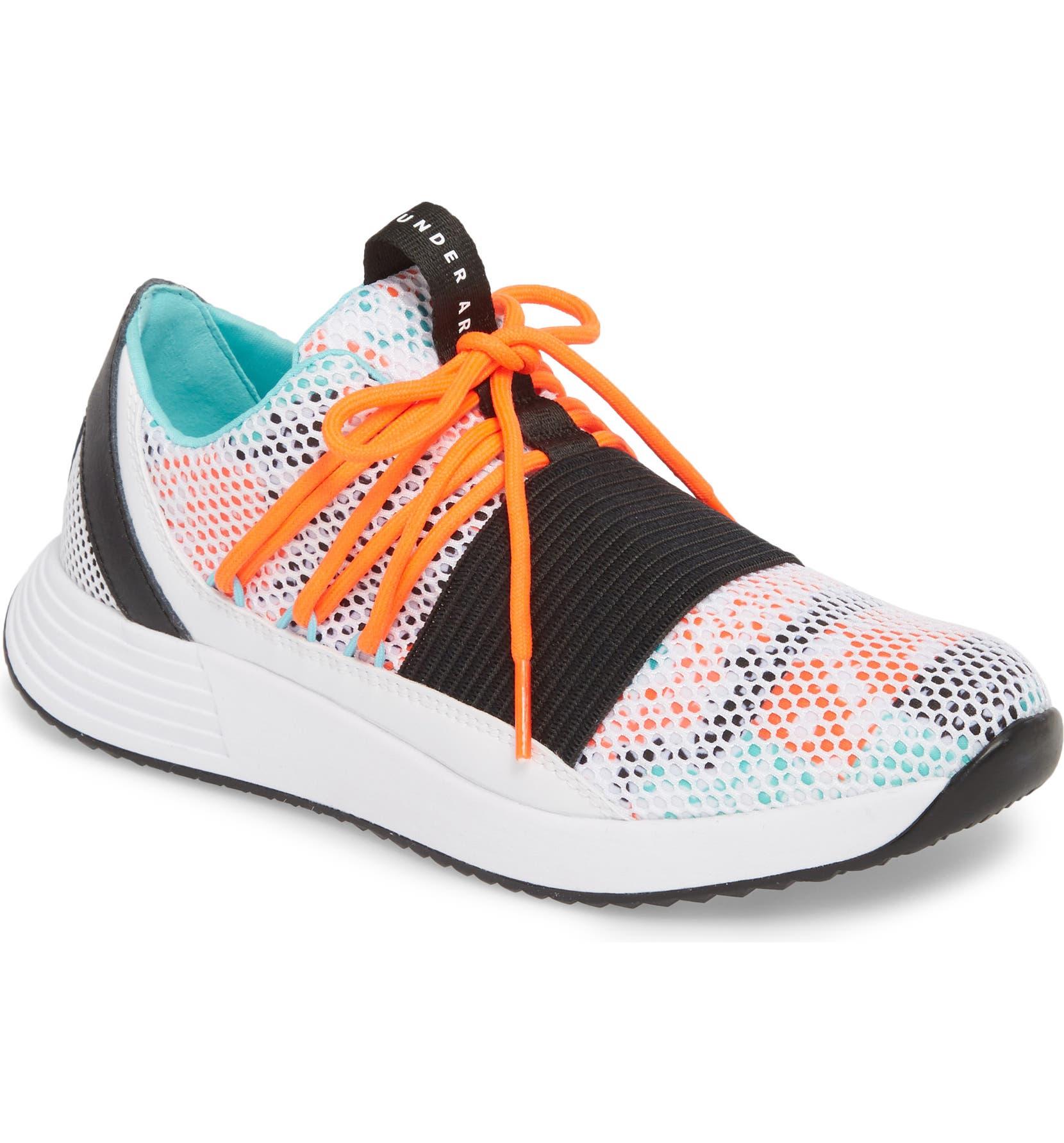 Under Armour Breathe Low Top Sneaker (Women)  1575bea1c611