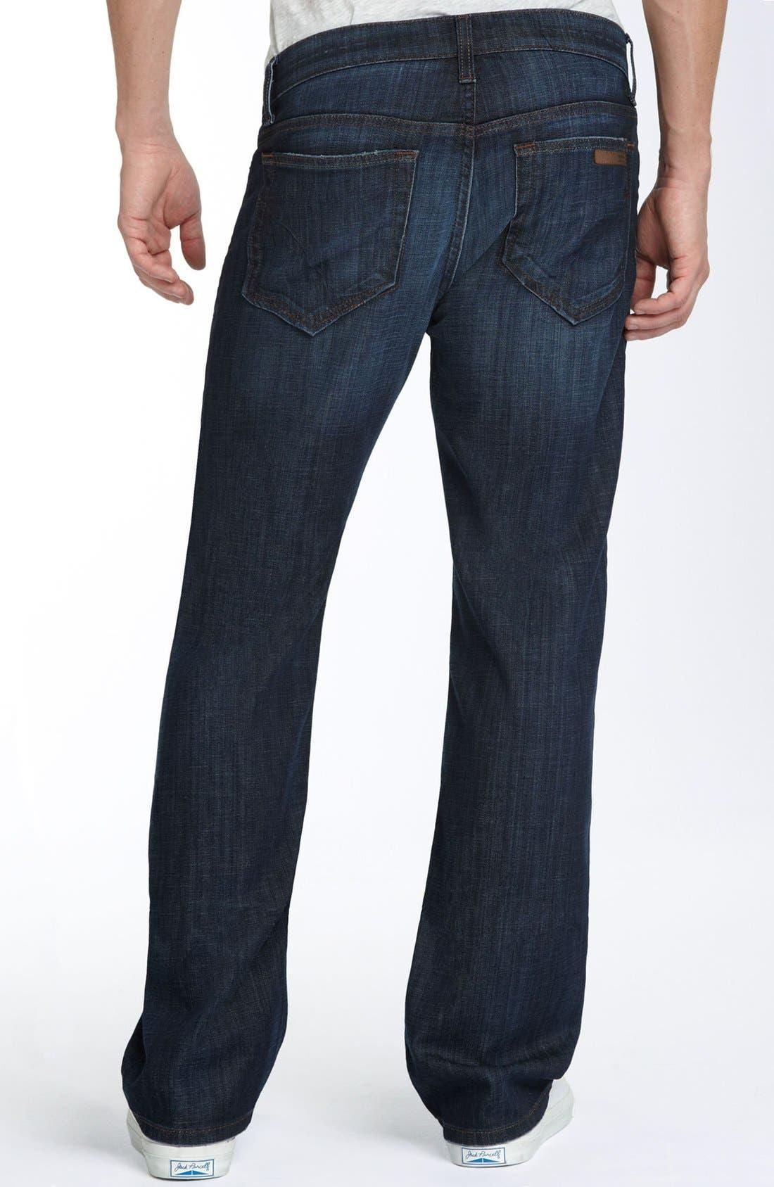 'Classic' Straight Leg Jeans,                             Alternate thumbnail 2, color,                             403