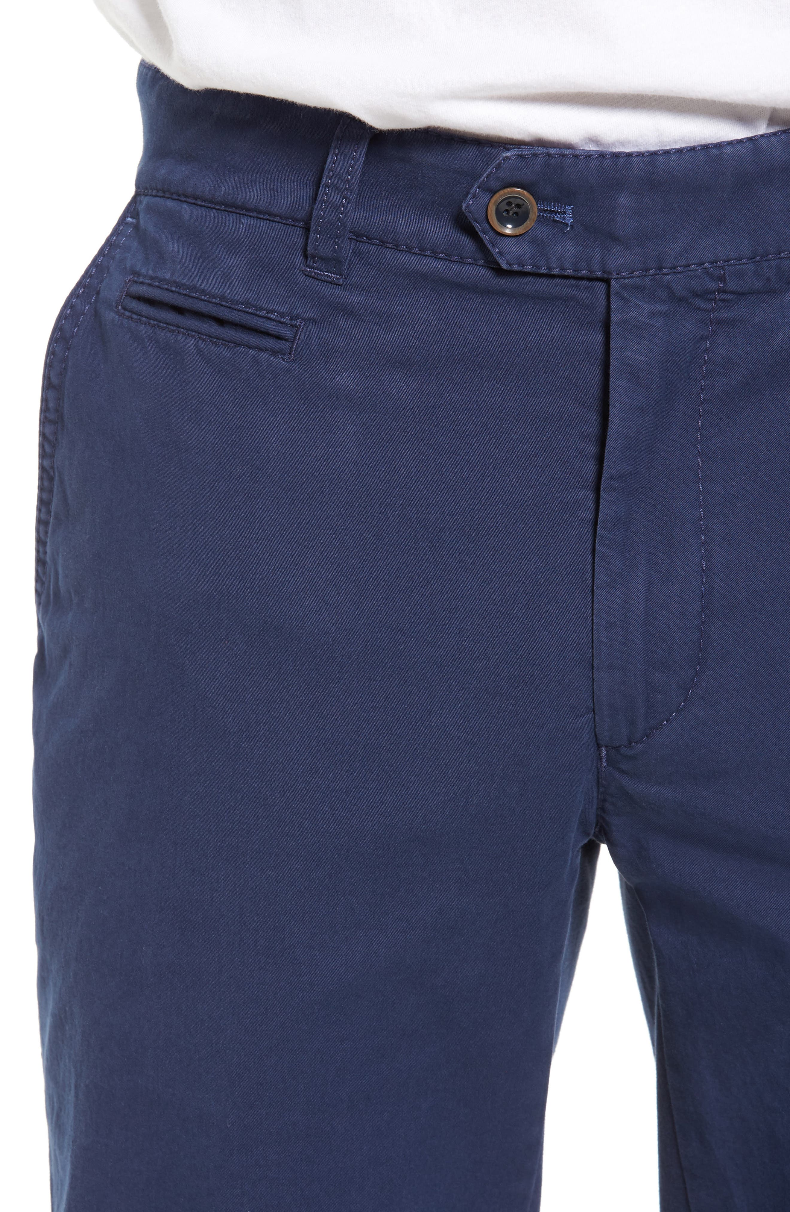 Everest Flat Front Chinos,                             Alternate thumbnail 8, color,