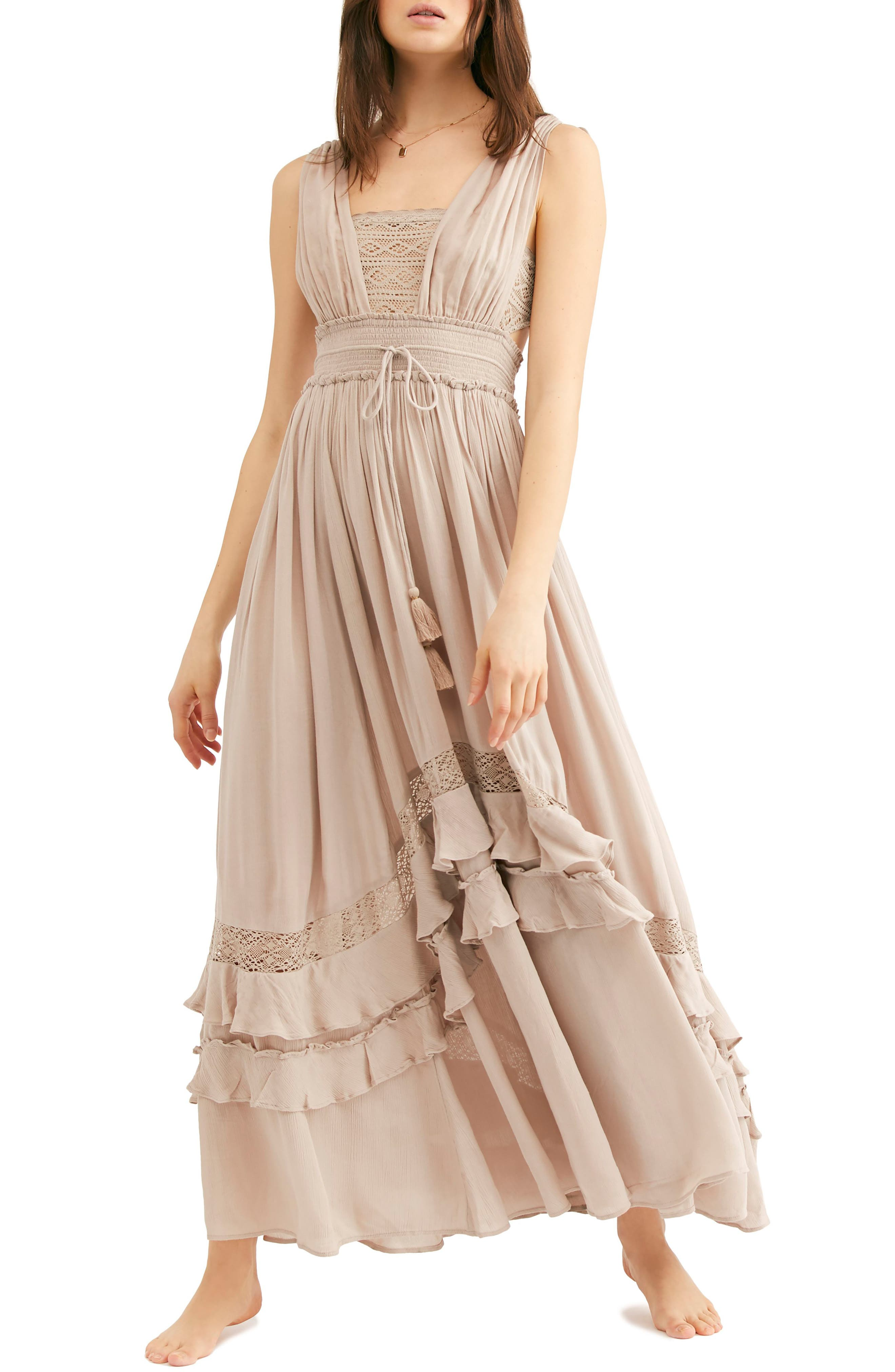 FREE PEOPLE Endless Summer by Free People Santa Maria Maxi Dress, Main, color, 250