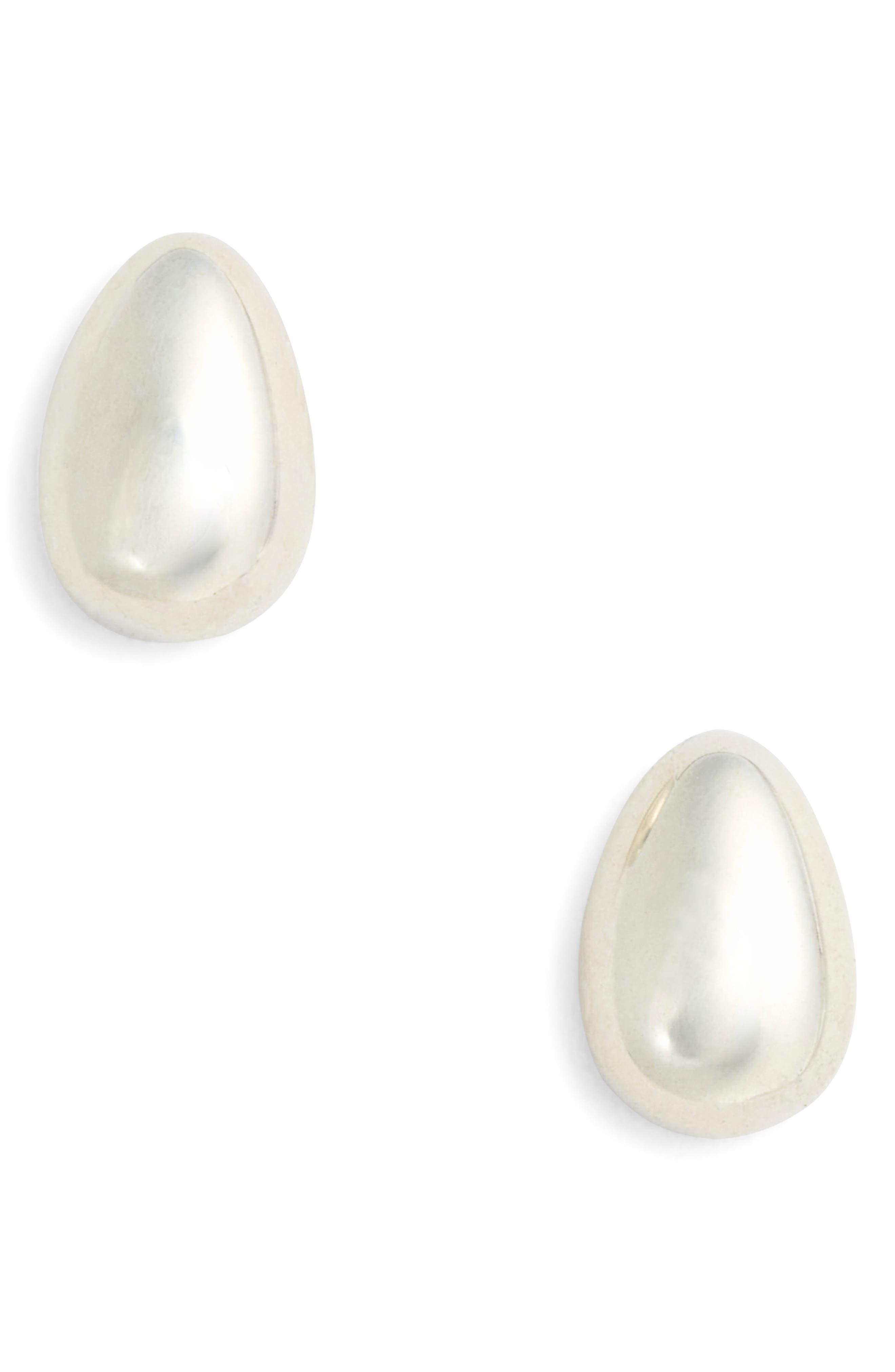 Tiny Egg Stud Earrings,                         Main,                         color, 040