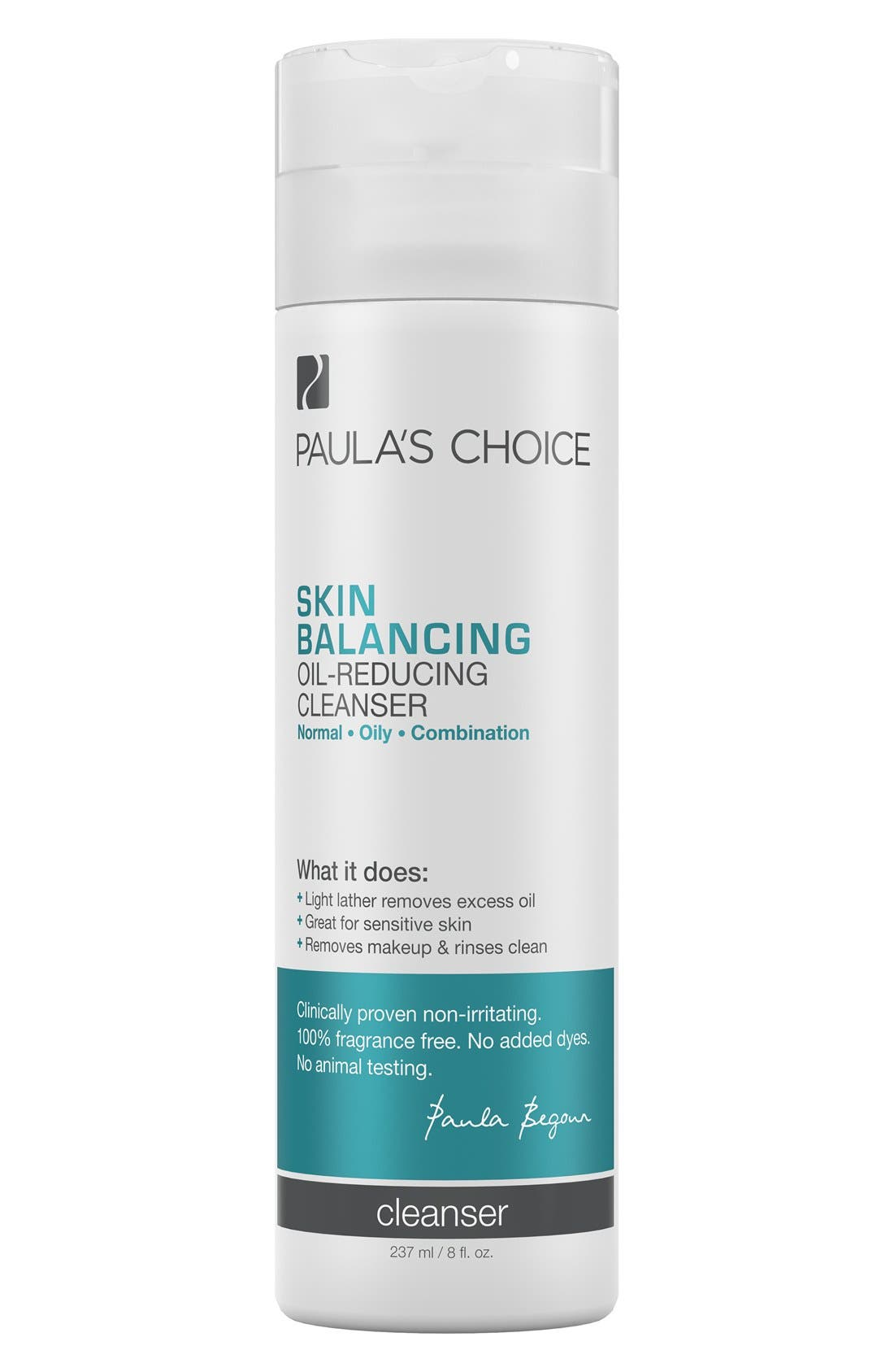 Skin Balancing Oil-Reducing Cleanser,                             Main thumbnail 1, color,                             NO COLOR
