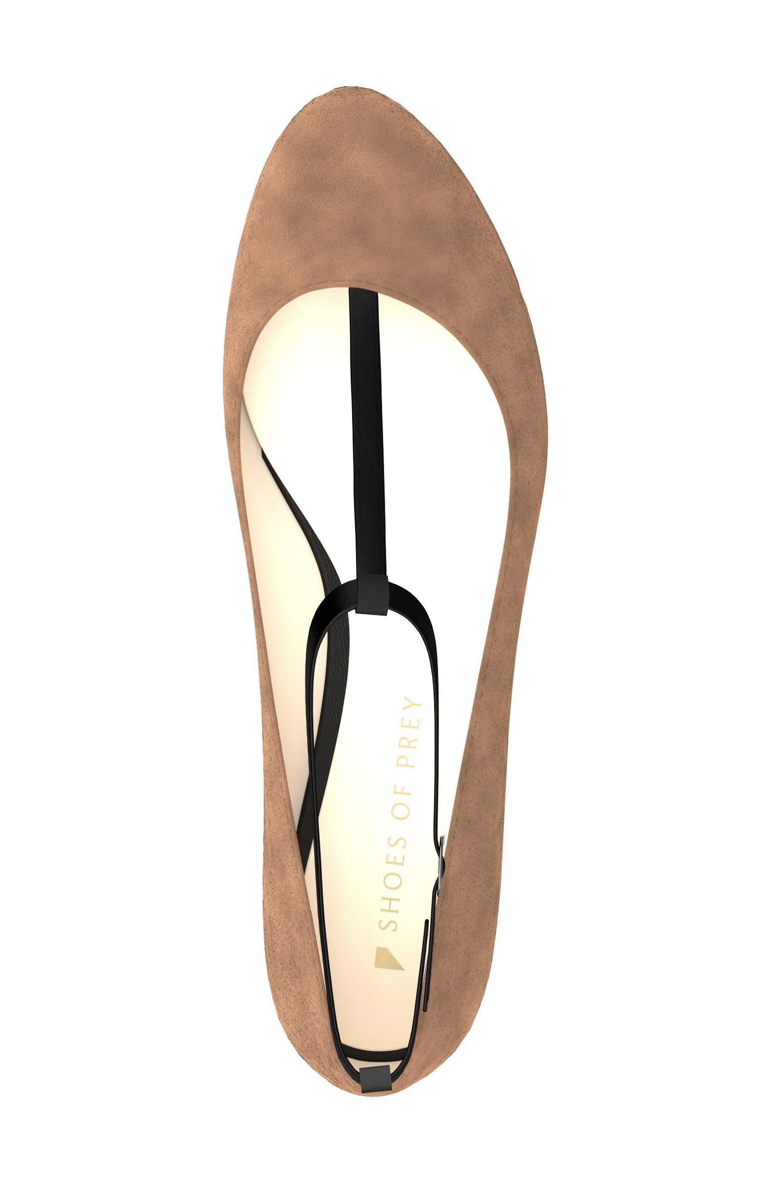 T-Strap Ballet Flat,                             Alternate thumbnail 5, color,                             250