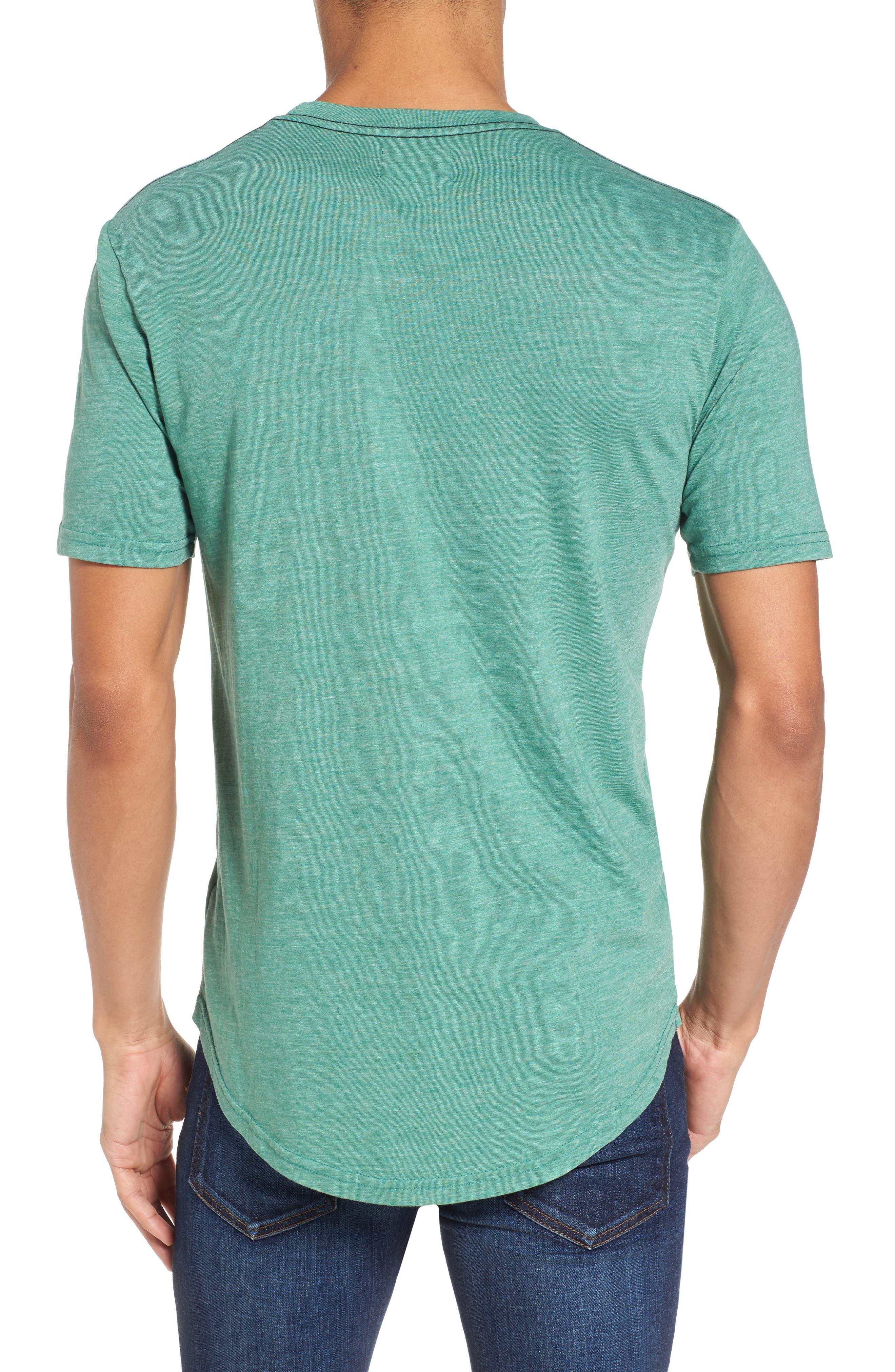 Scallop Triblend Crewneck T-Shirt,                             Alternate thumbnail 30, color,