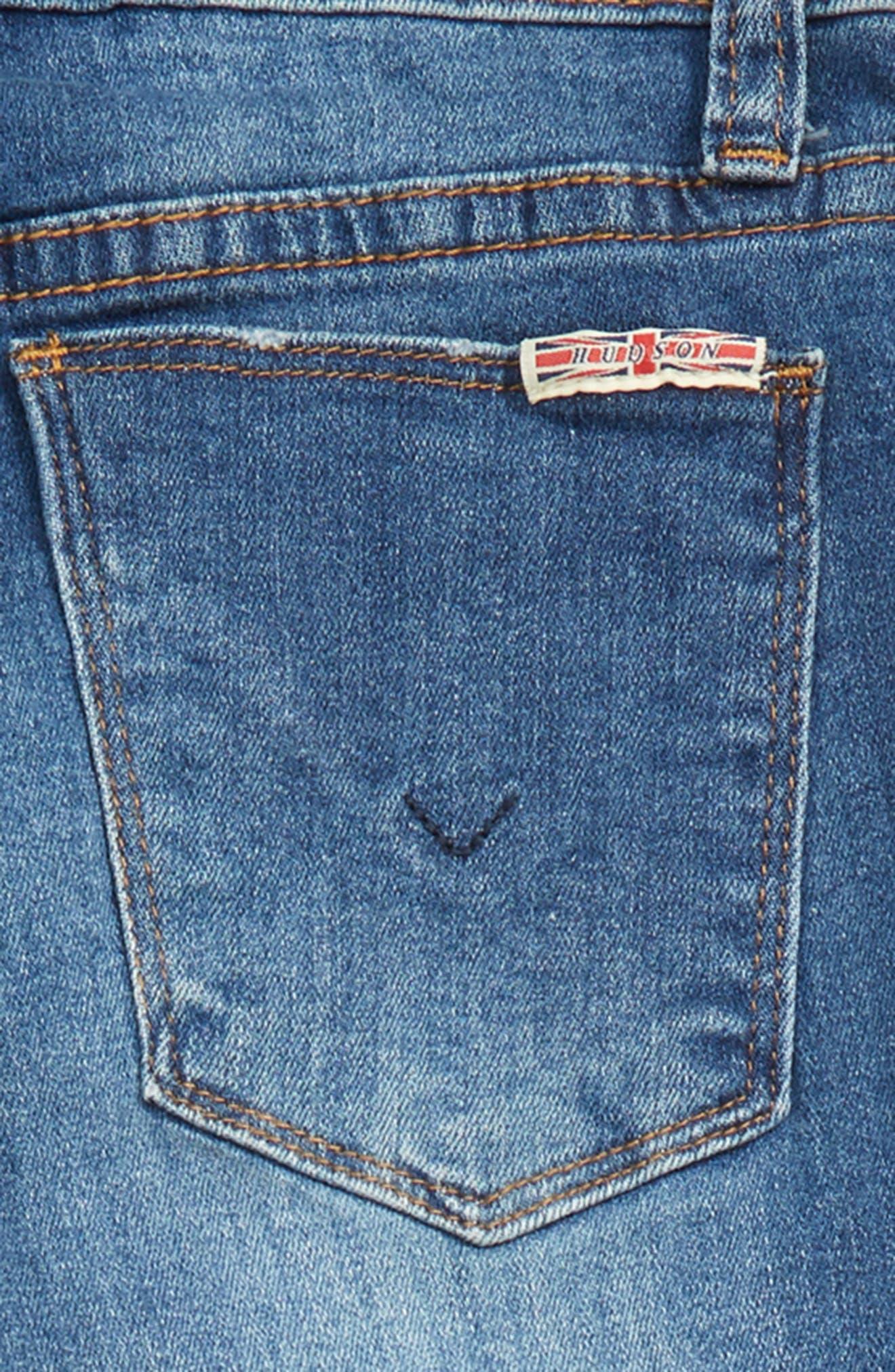 Deja Ripped Crop Jeans,                             Alternate thumbnail 3, color,                             464