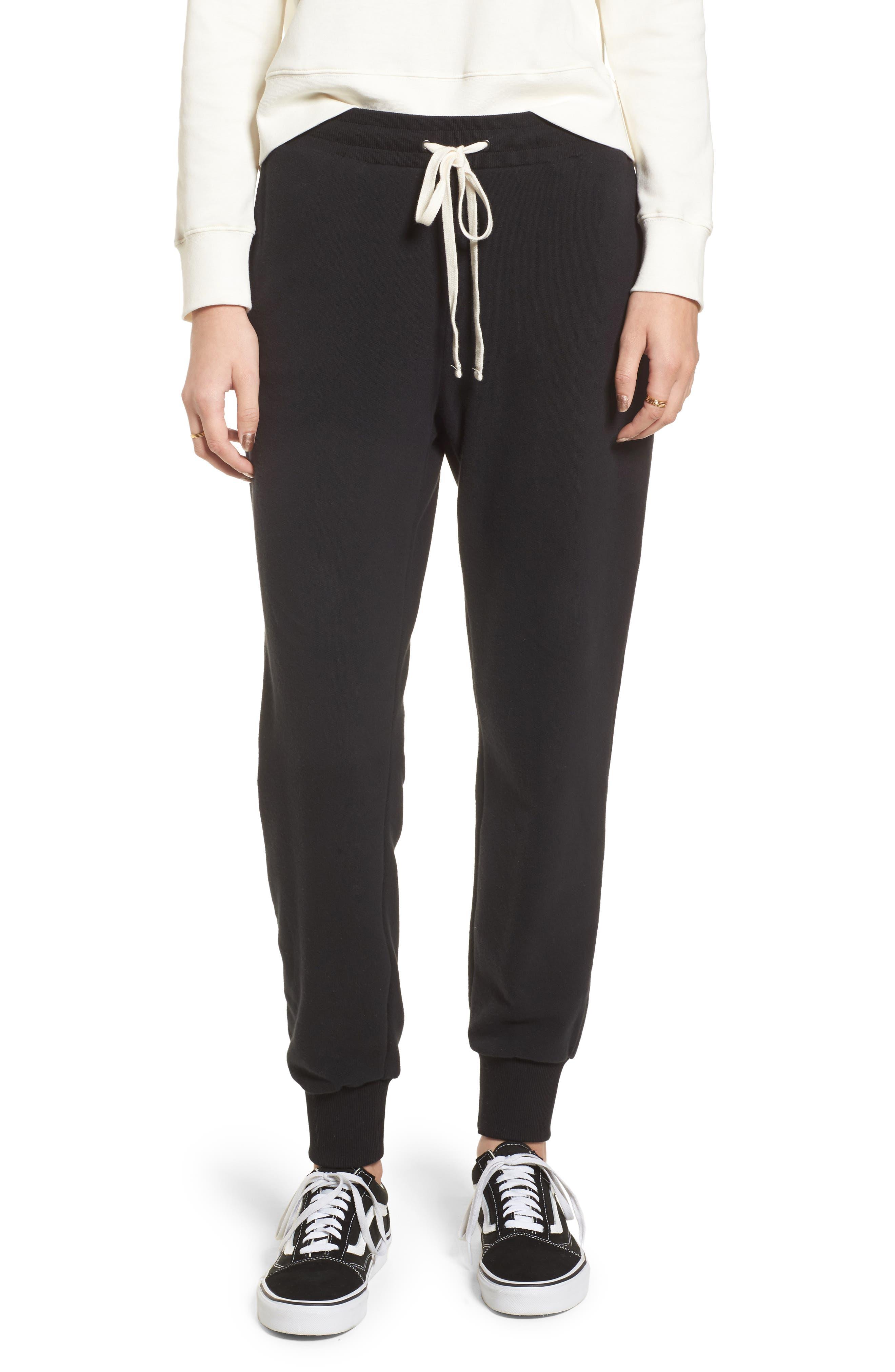 Terry Trouser Sweatpants,                             Main thumbnail 1, color,                             001