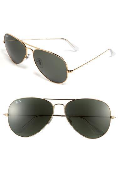92a593edc9 Ray-Ban  Org Aviator  62mm Sunglasses