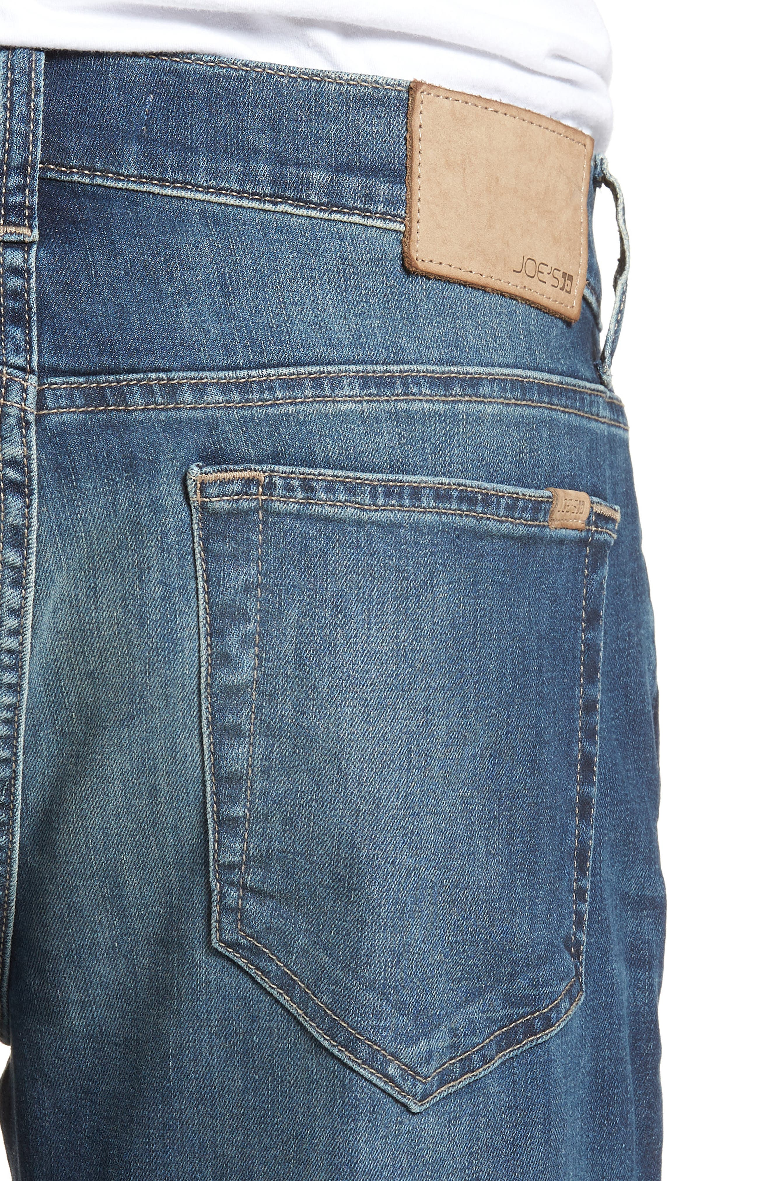 Brixton Slim Straight Fit Jeans,                             Alternate thumbnail 4, color,                             400