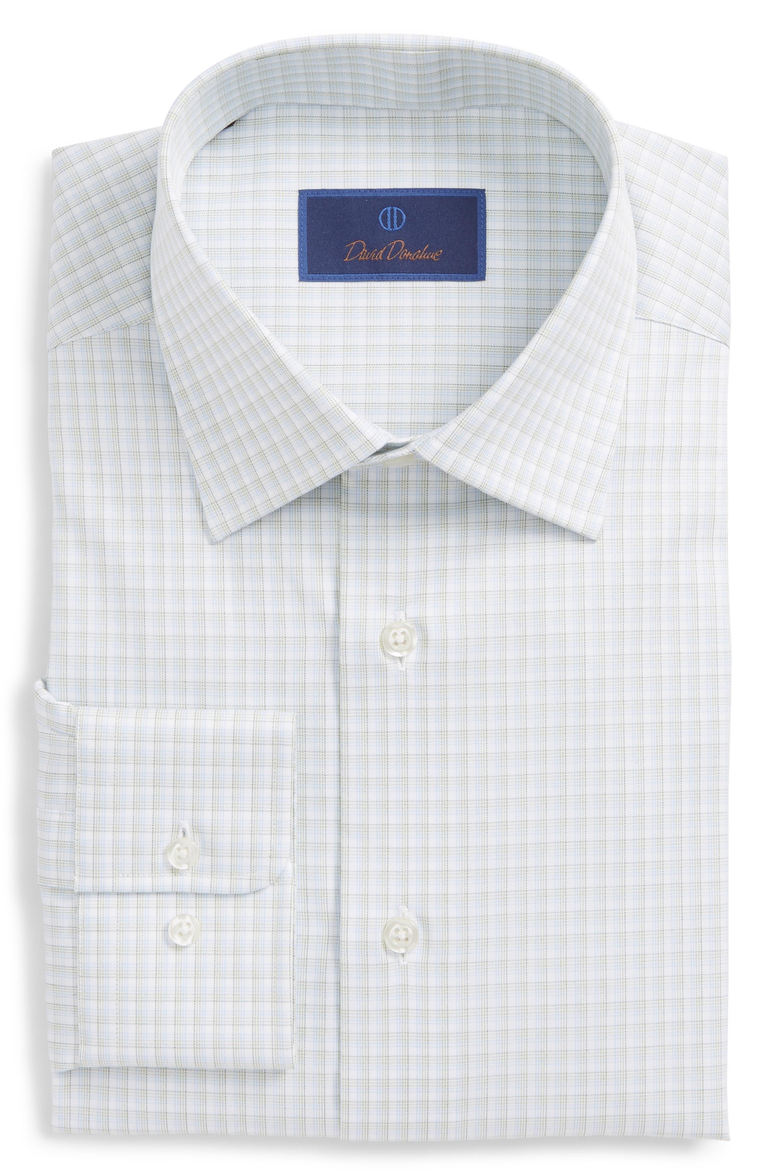 Regular Fit Check Dress Shirt,                         Main,                         color, 310