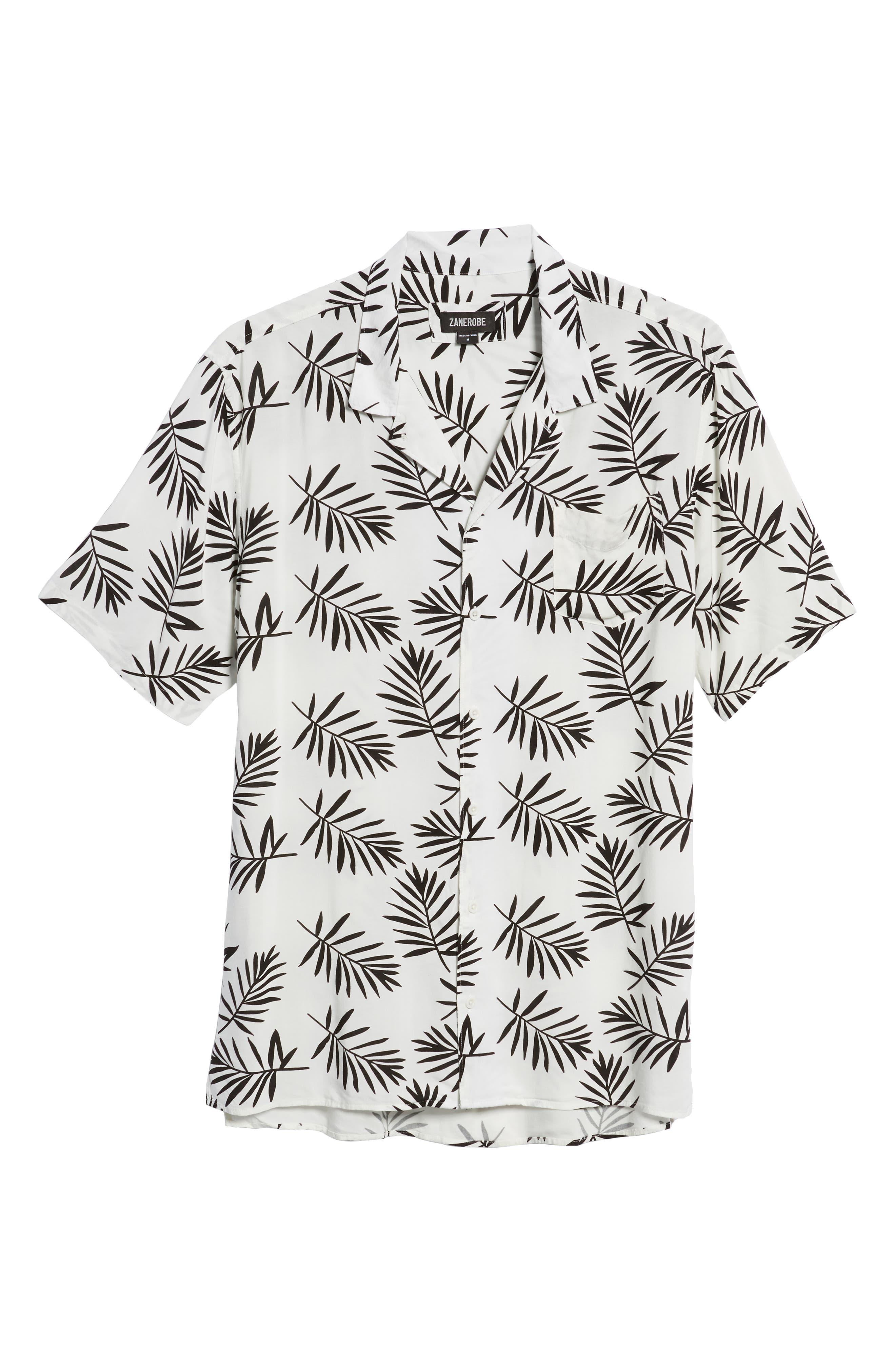 ZANEROBE,                             Fern Camp Shirt,                             Alternate thumbnail 5, color,                             100