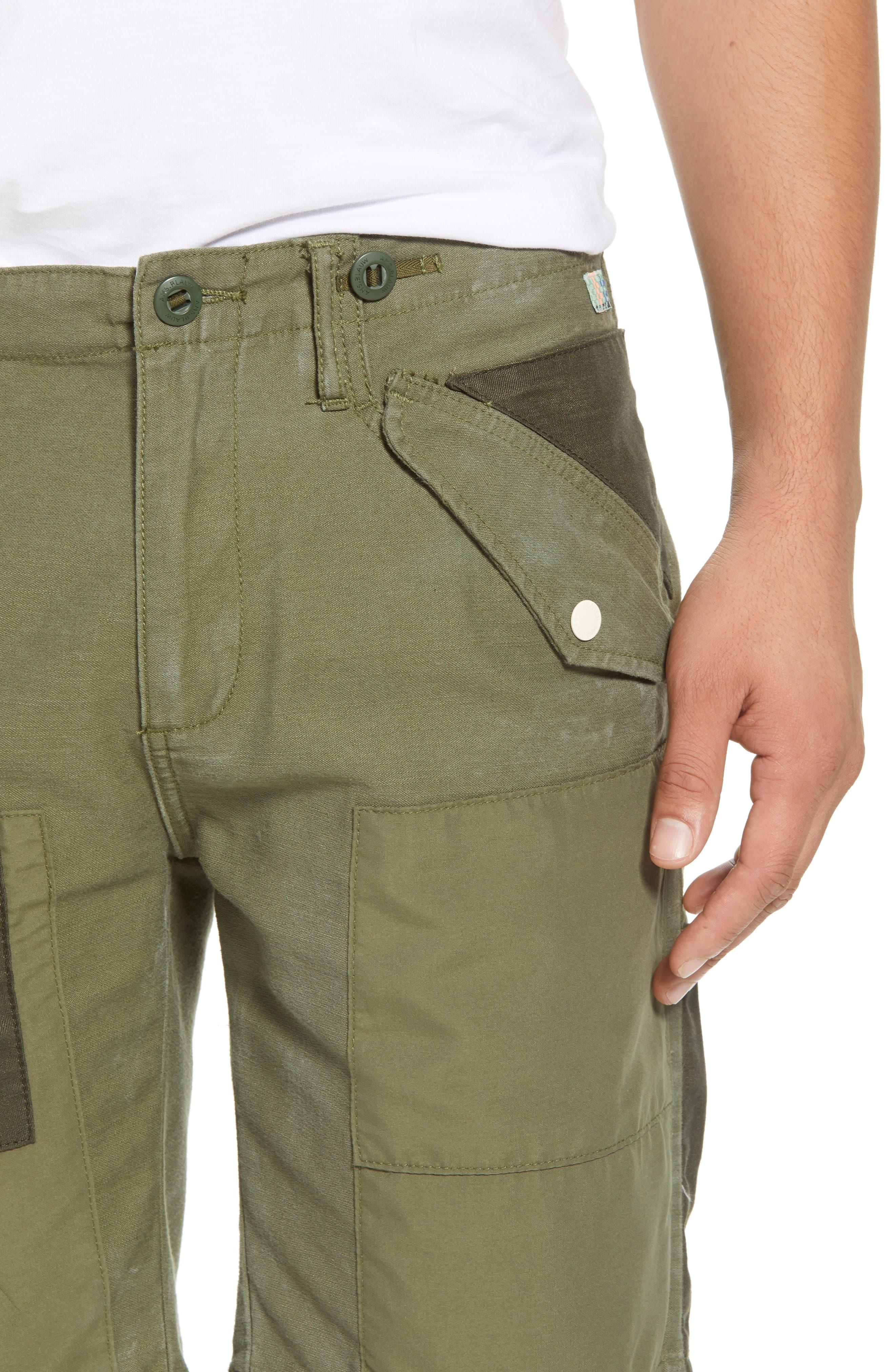 Cargo Shorts,                             Alternate thumbnail 4, color,                             GREEN